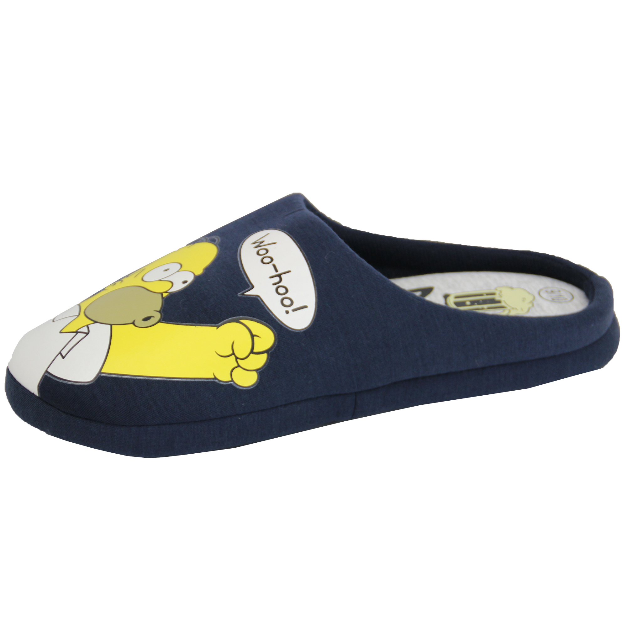 "The Simpsons Homer No Function Men's Slippers. by The Simpsons. $ $ 18 FREE Shipping on eligible orders. Product Features Awesome design inspired by the iconic Homer Simpson and Duff beer. The Simpsons Mens ""Homer Simpson No Function"" Mule Slippers. by William Lamb."