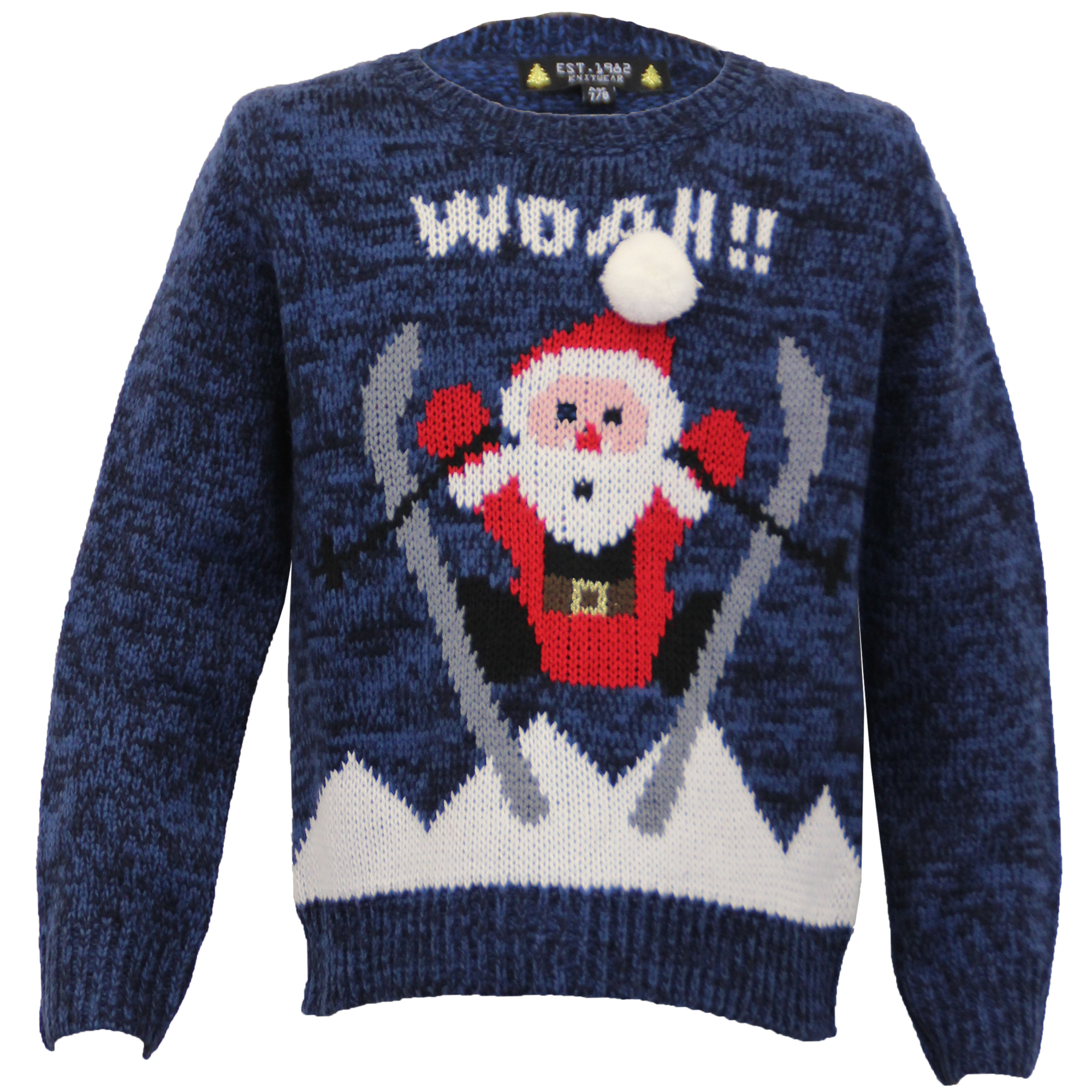 novelty christmas jumpers knitting pattern