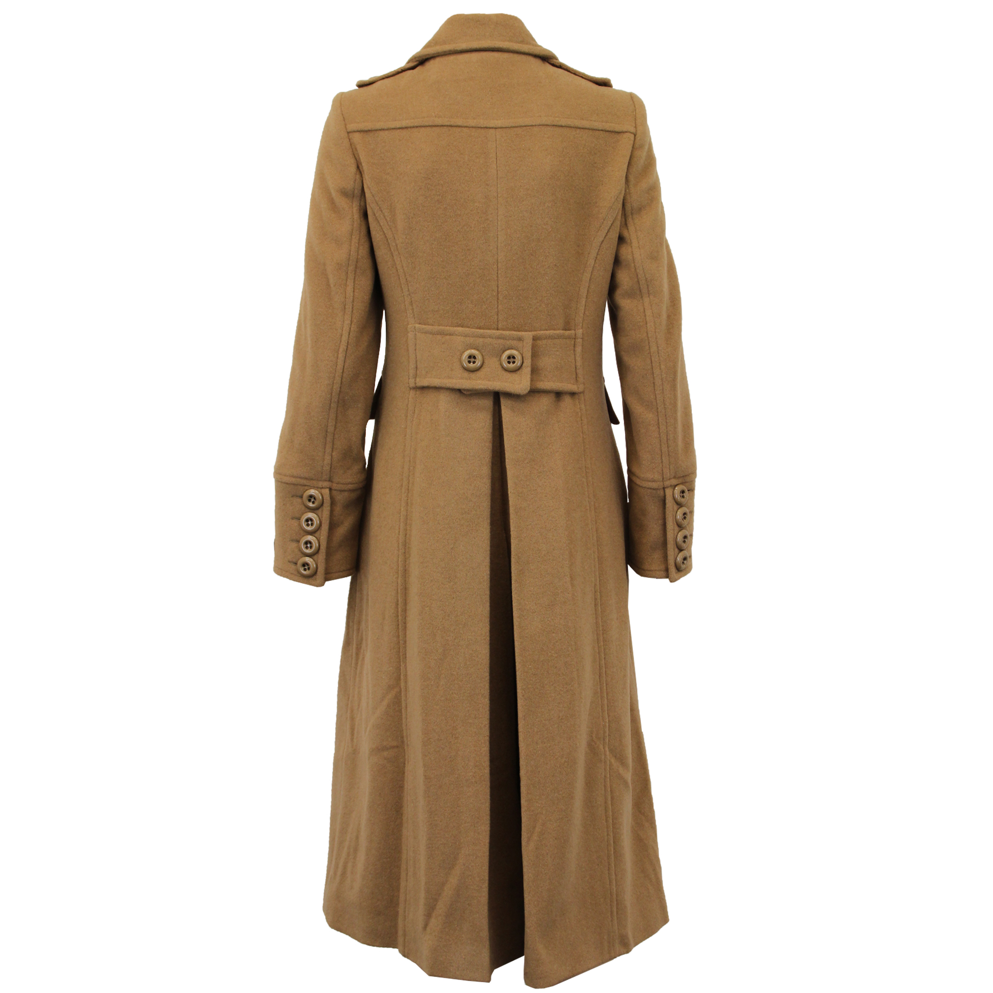 Ladies-Wool-Cashmere-Coat-Women-Jacket-Outerwear-Trench-Overcoat-Winter-Lined thumbnail 20