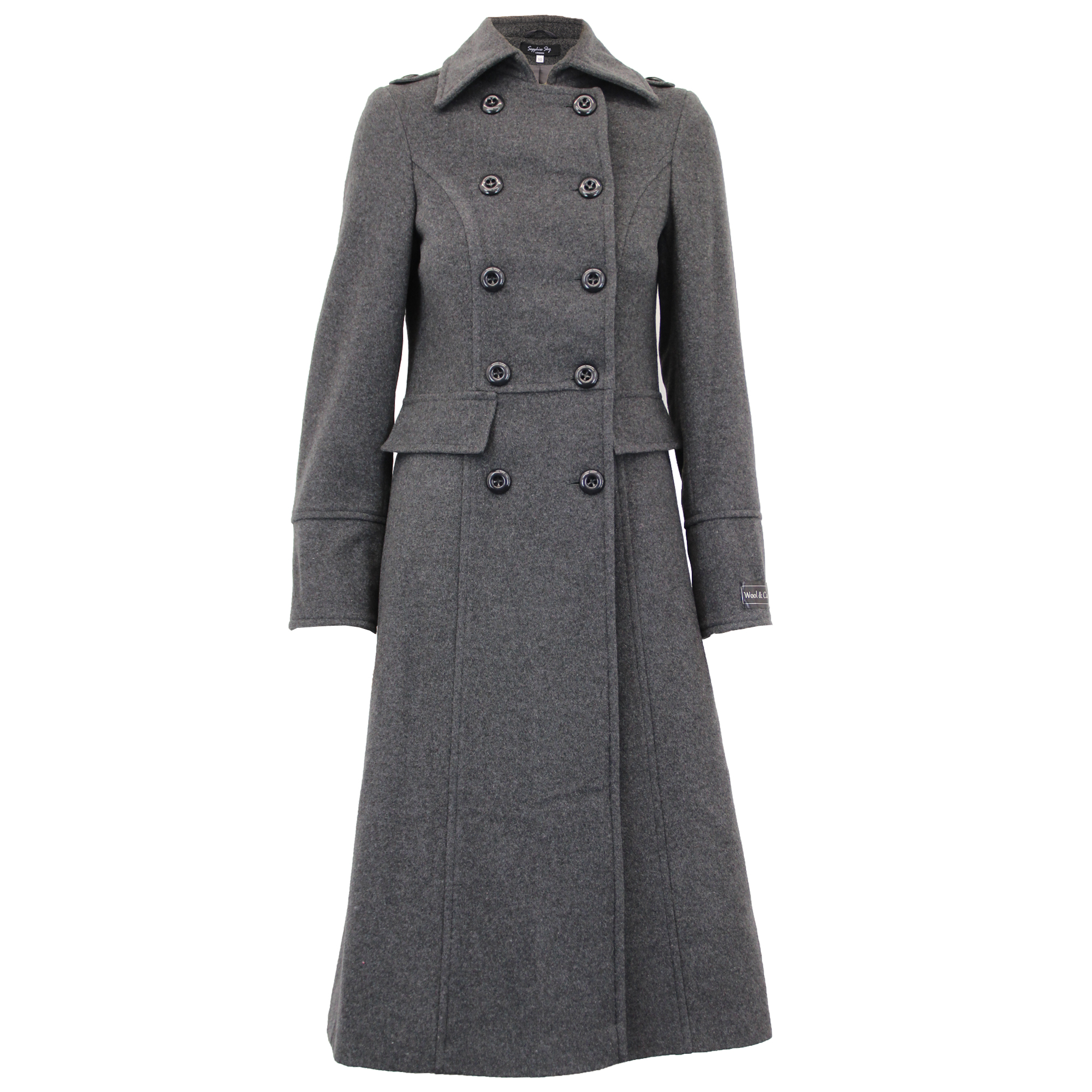 Ladies Wool Cashmere Coat Women Jacket Outerwear Trench
