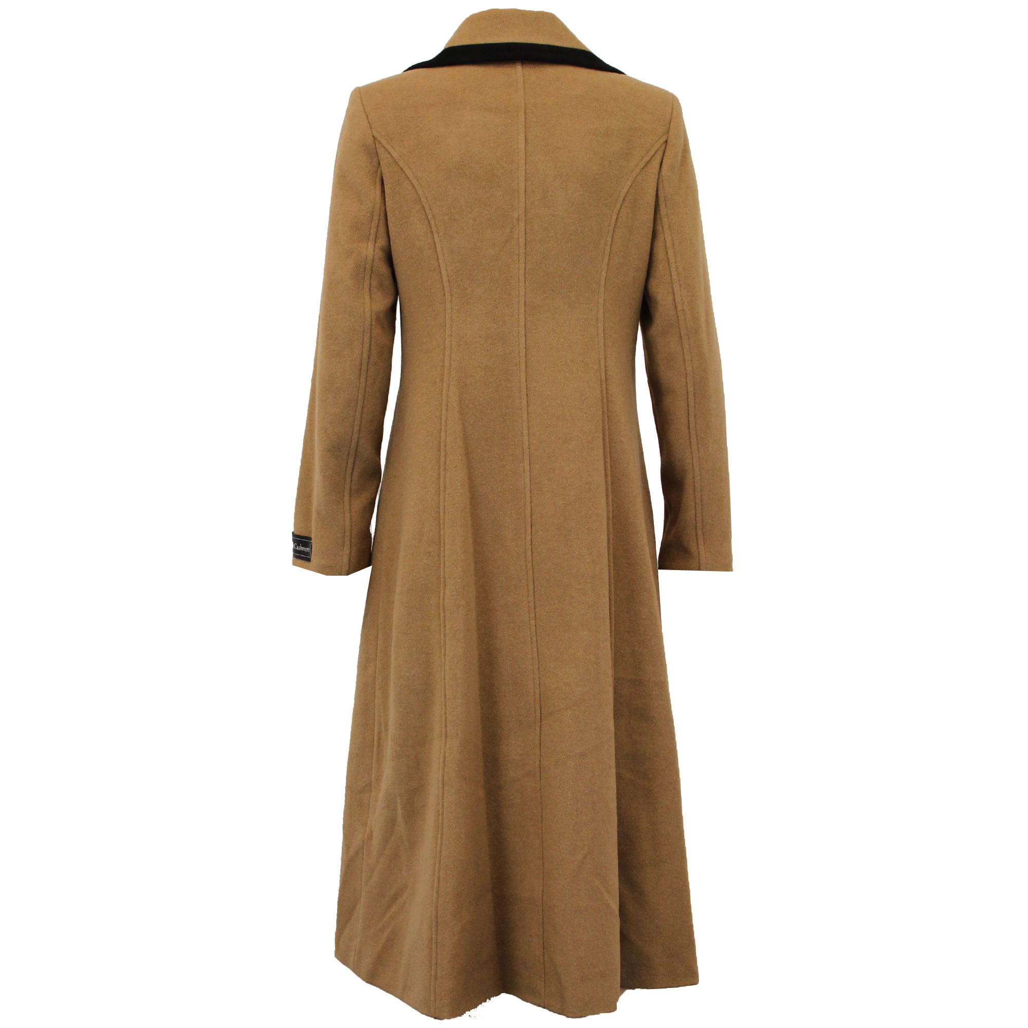 Ladies-Wool-Cashmere-Coat-Women-Jacket-Outerwear-Trench-Overcoat-Winter-Lined thumbnail 34