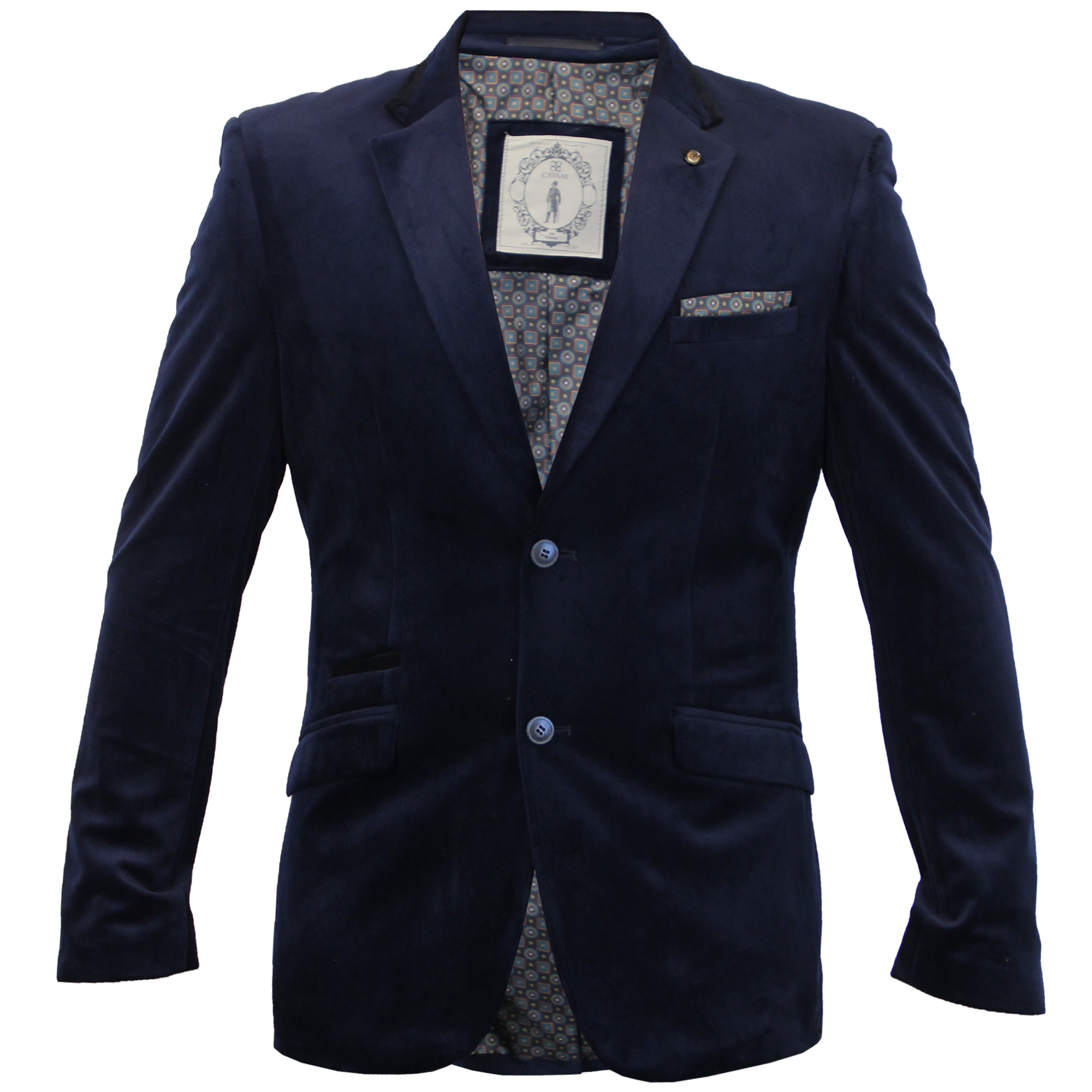 Blazers Jackets Mens: Mens Blazer Cavani Coat Dinner Suit Jacket Herringbone