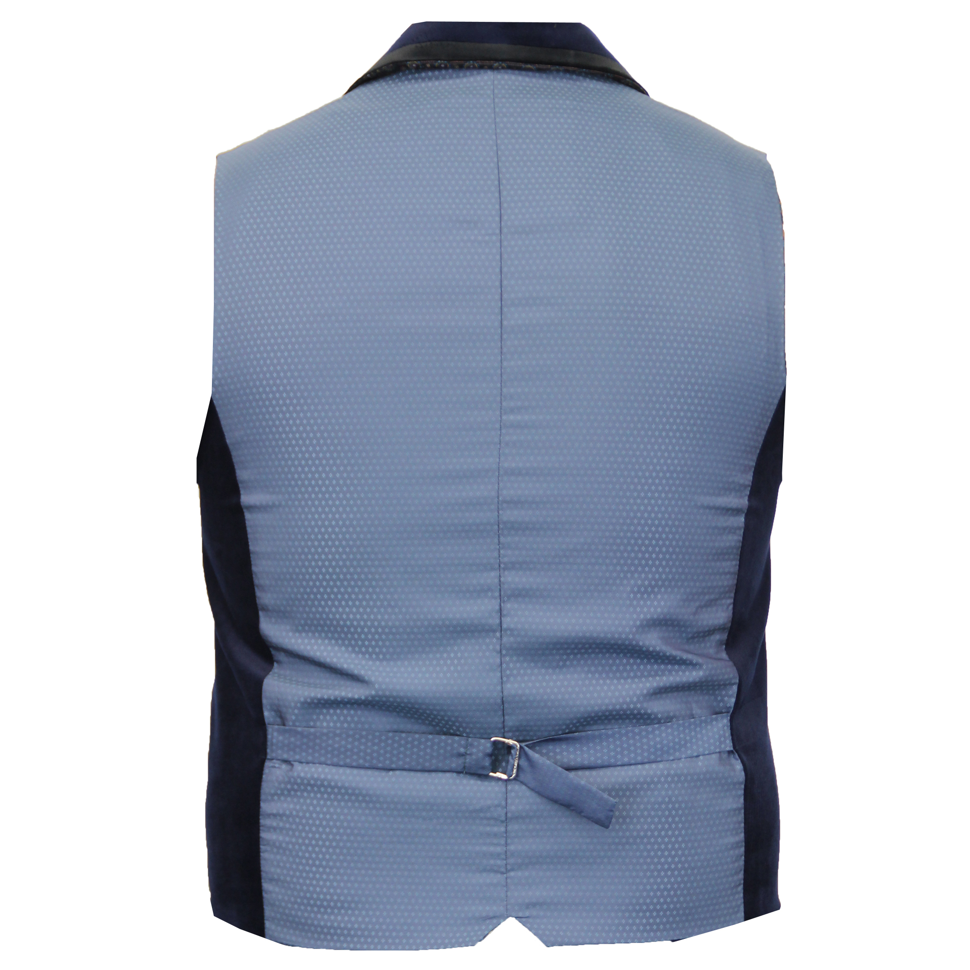 Mens-Waistcoat-Wool-Mix-Cord-Cavani-Formal-Vest-Herringbone-Tweed-Check-Party thumbnail 5