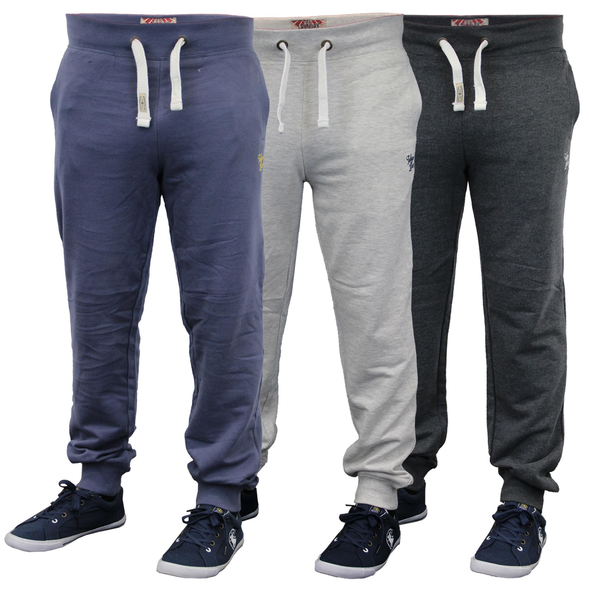 8c3dfb32e0e2 Aderente, da Uomo Pantaloni Lunghi da Jogging da Tokyo Laundry | eBay