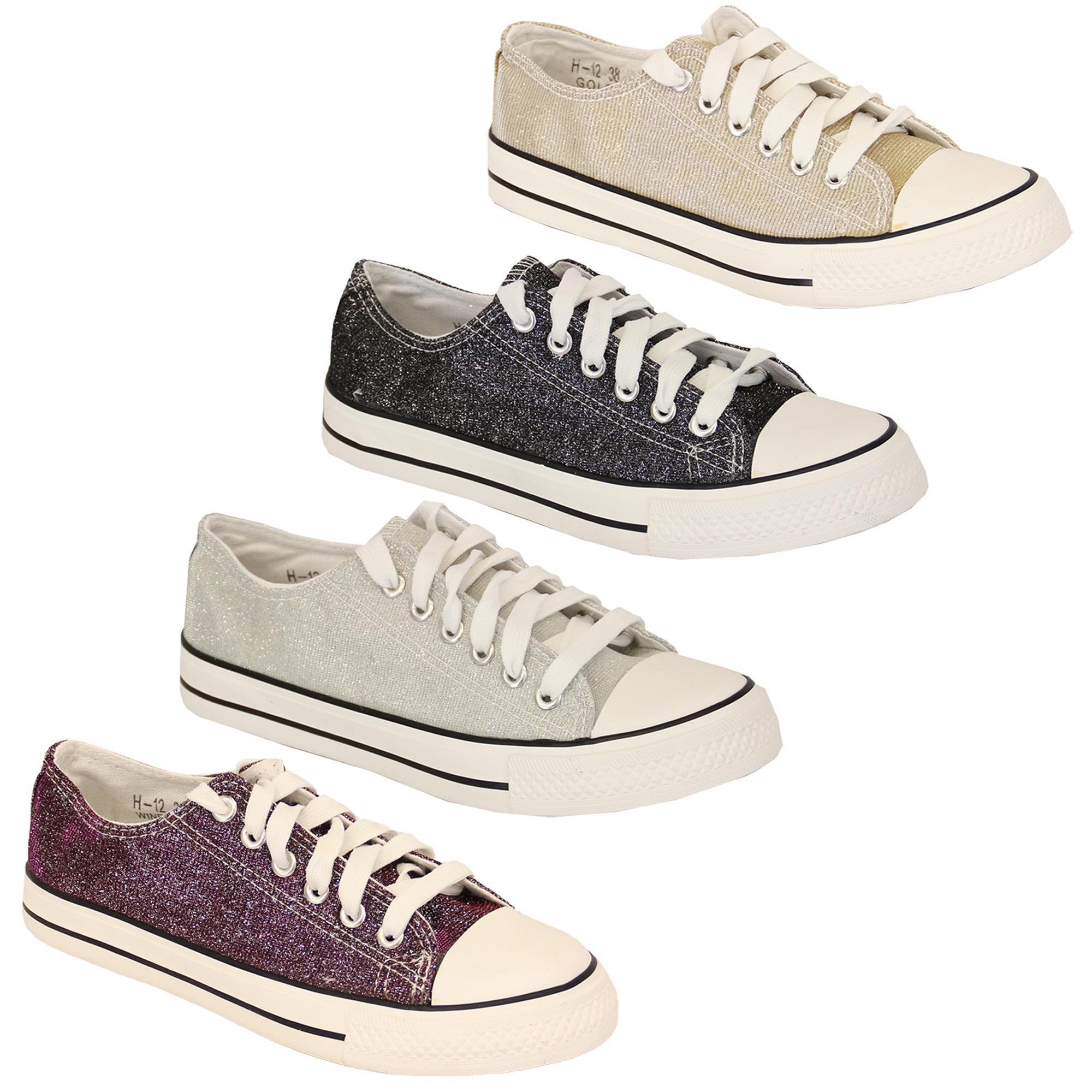 Vin Escarpins Chaussures Lacets Femmes Chaussures Paillettes Toile H12 À zxwqxOXS0