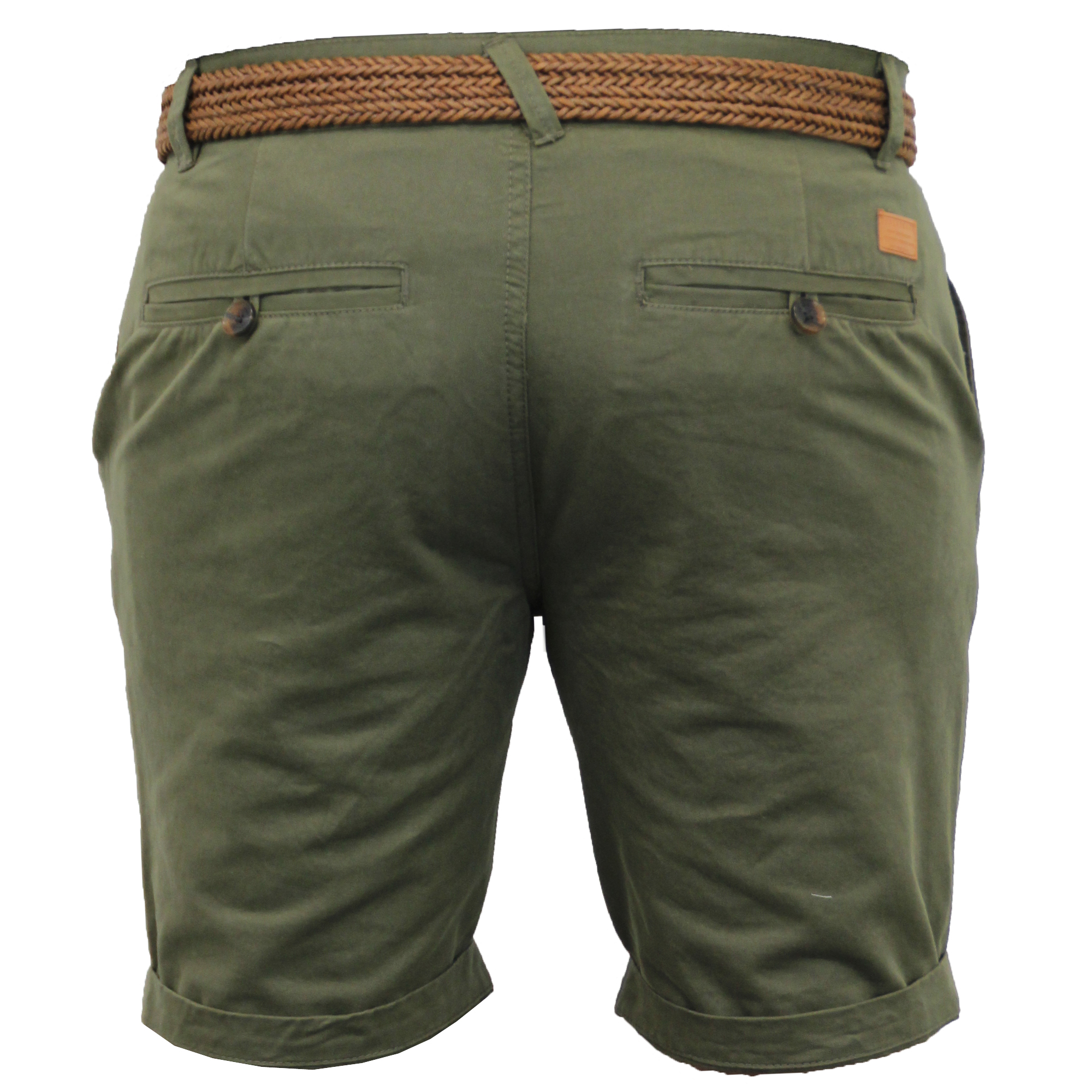 Mens-Chino-Shorts-Threadbare-Cotton-Oxford-Belted-Loyalty-amp-Faith-Seven-Series thumbnail 14