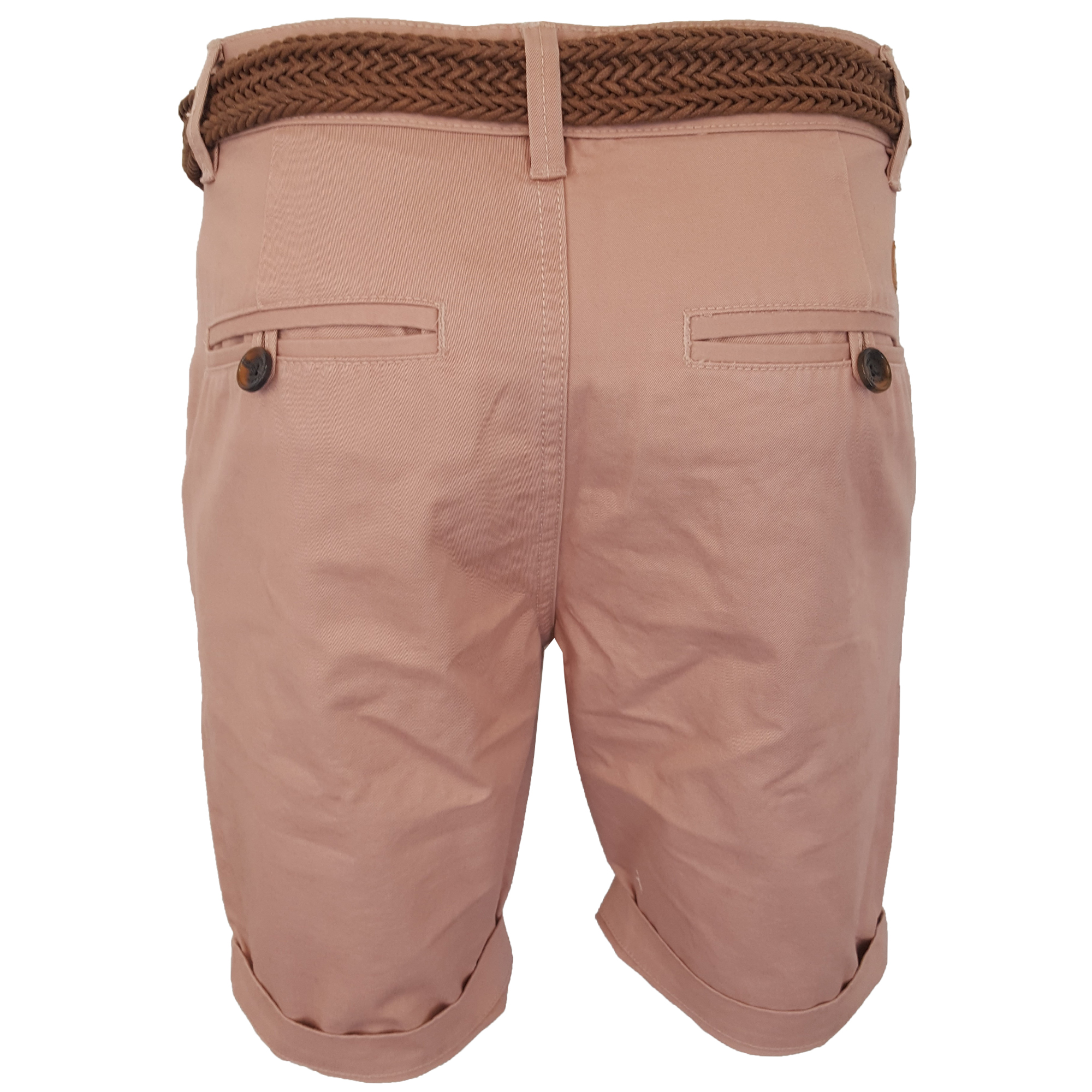 Mens-Chino-Shorts-Threadbare-Cotton-Oxford-Belted-Loyalty-amp-Faith-Seven-Series thumbnail 36