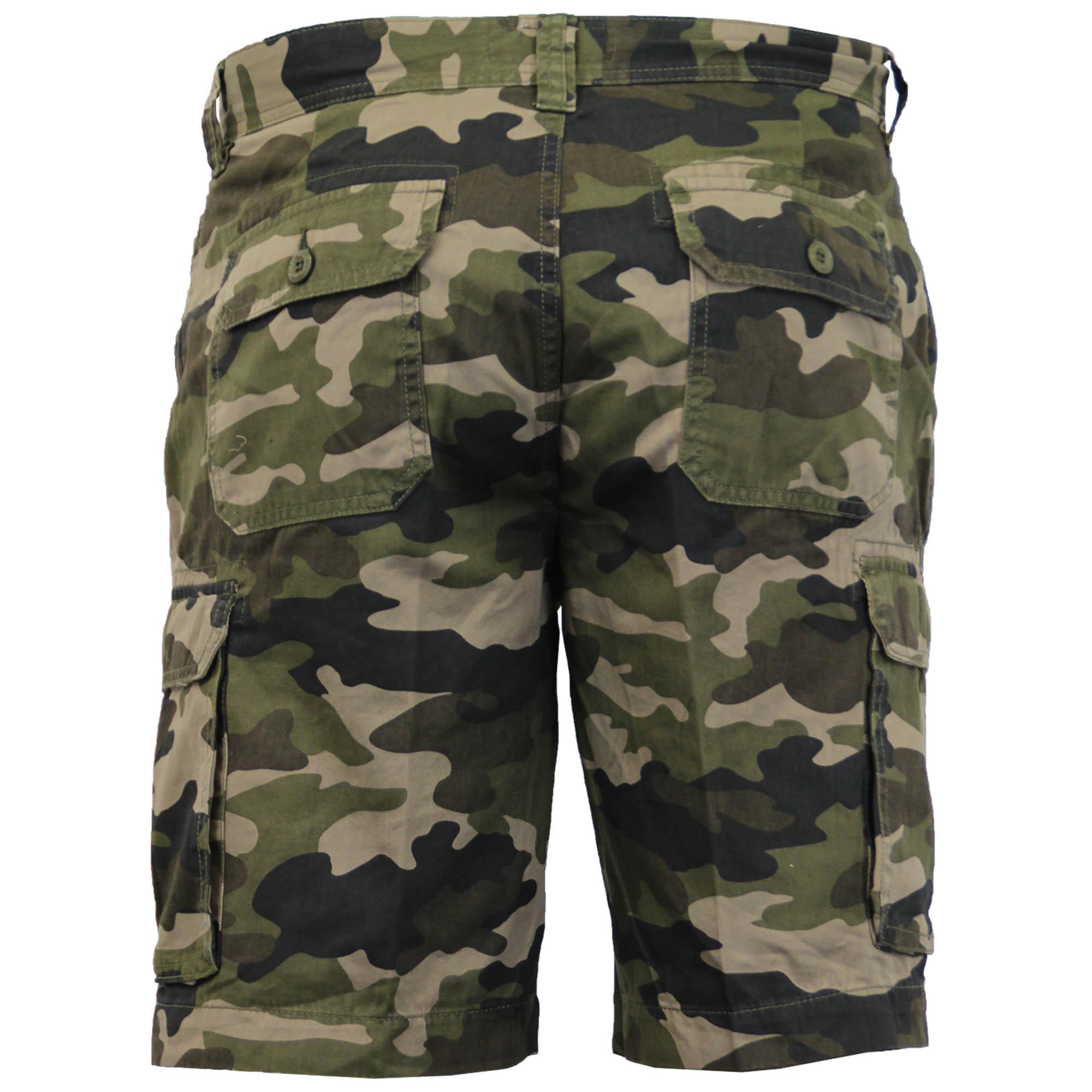 camouflage homme short militaire combat longueur genou arm e westace t neuf ebay. Black Bedroom Furniture Sets. Home Design Ideas
