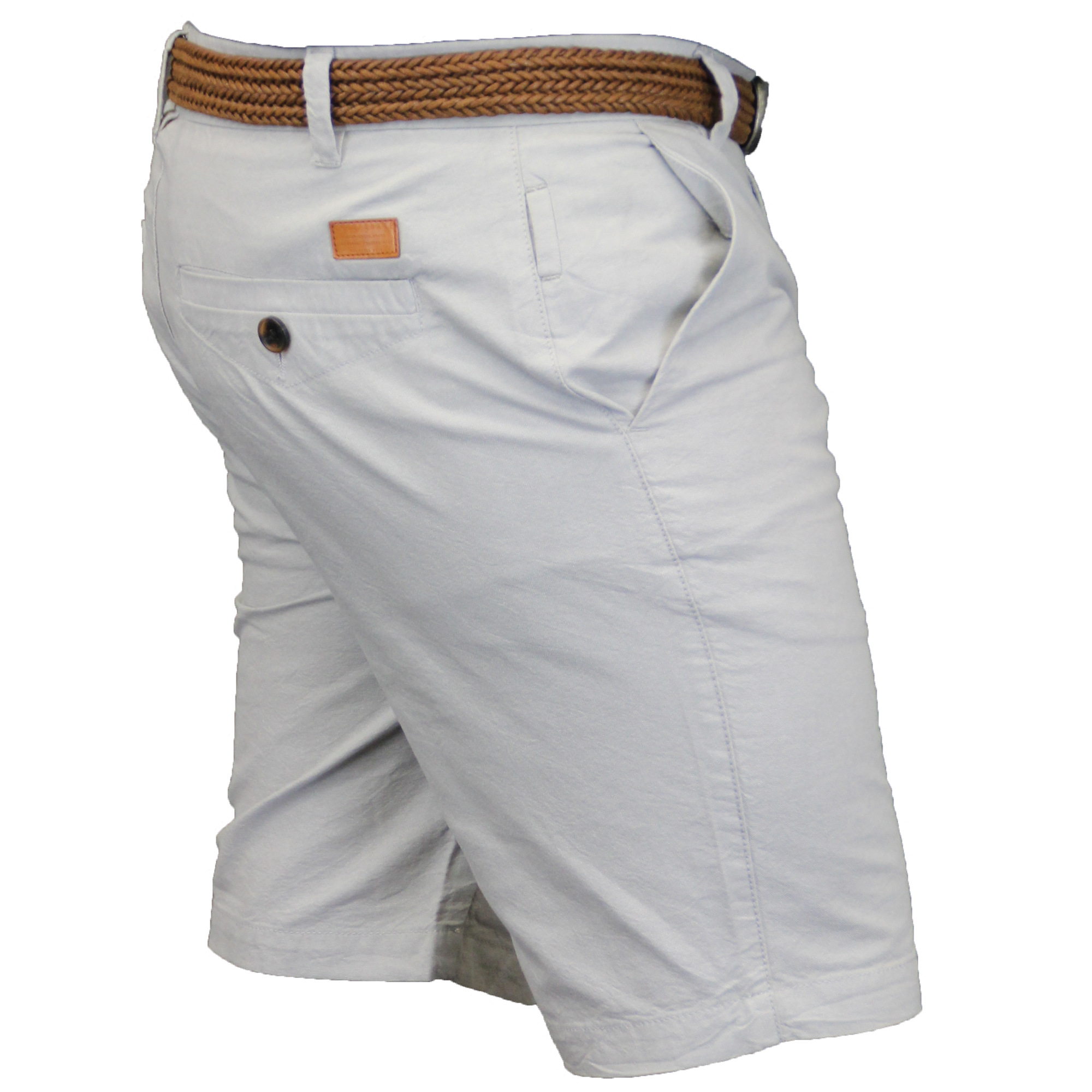 Mens-Chino-Shorts-Threadbare-Cotton-Oxford-Belted-Loyalty-amp-Faith-Seven-Series thumbnail 17