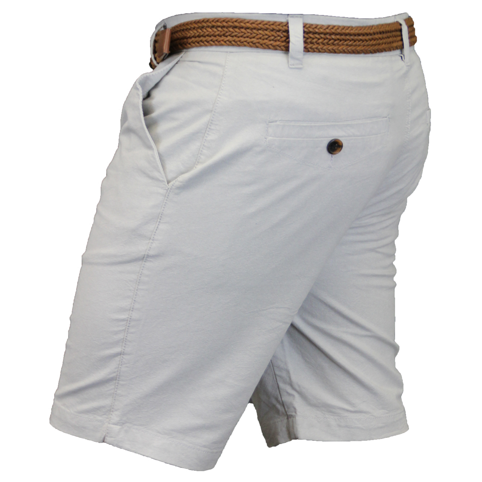 Mens-Chino-Shorts-Threadbare-Cotton-Oxford-Belted-Loyalty-amp-Faith-Seven-Series thumbnail 18