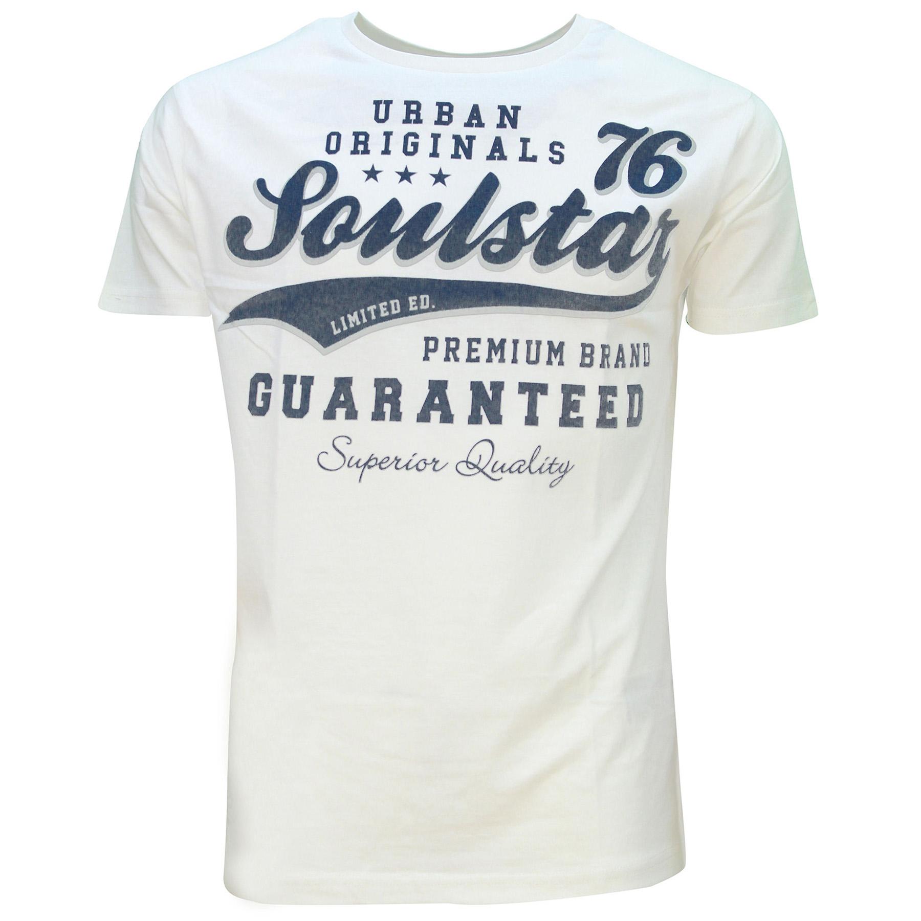 Mens Short Sleeved Urban Originals T Shirts By Soul Star