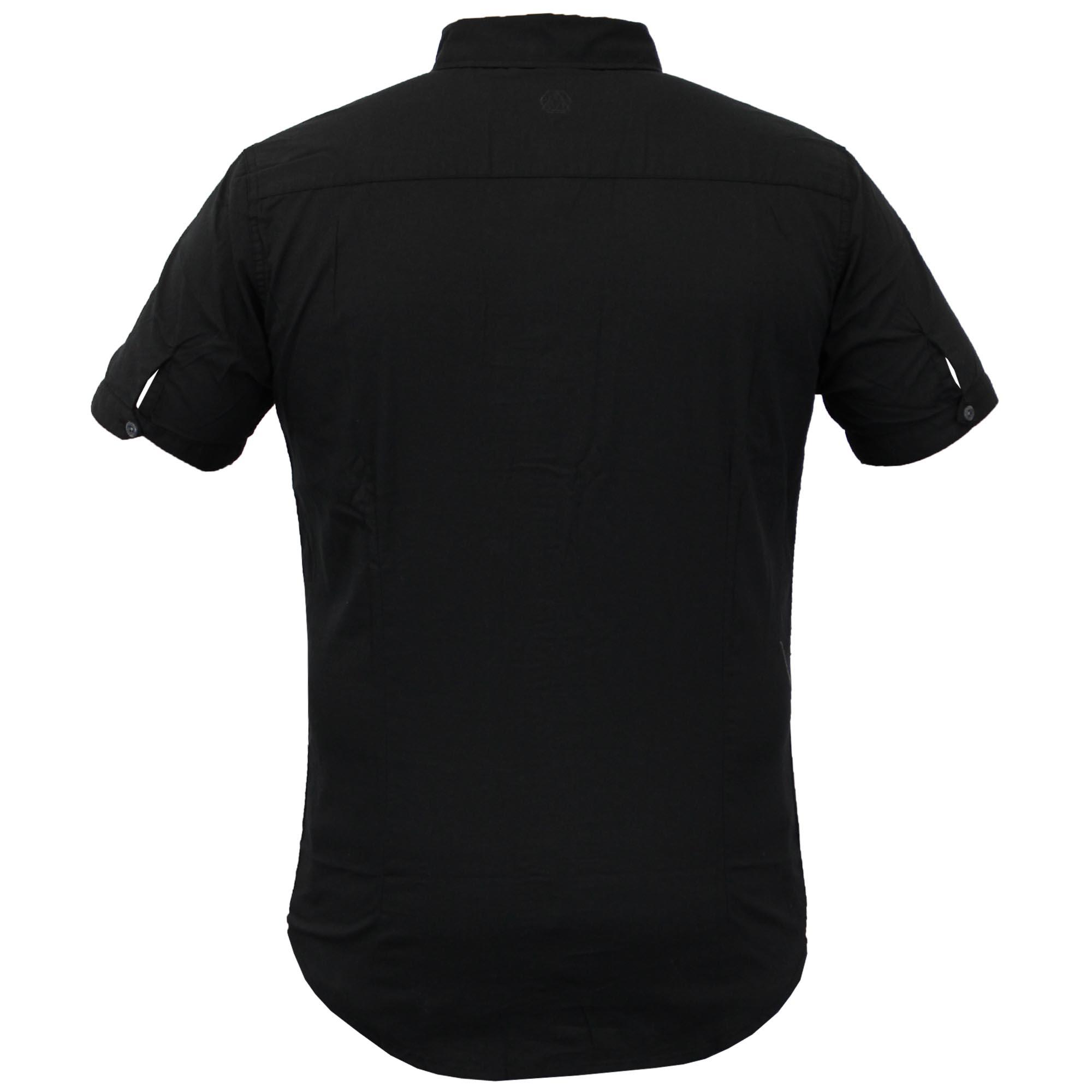 Camisas-de-vestir-para-hombre-de-alma-valiente-Smith-amp-Jones-Manga-Corta-Larga-De-Algodon-Con miniatura 6