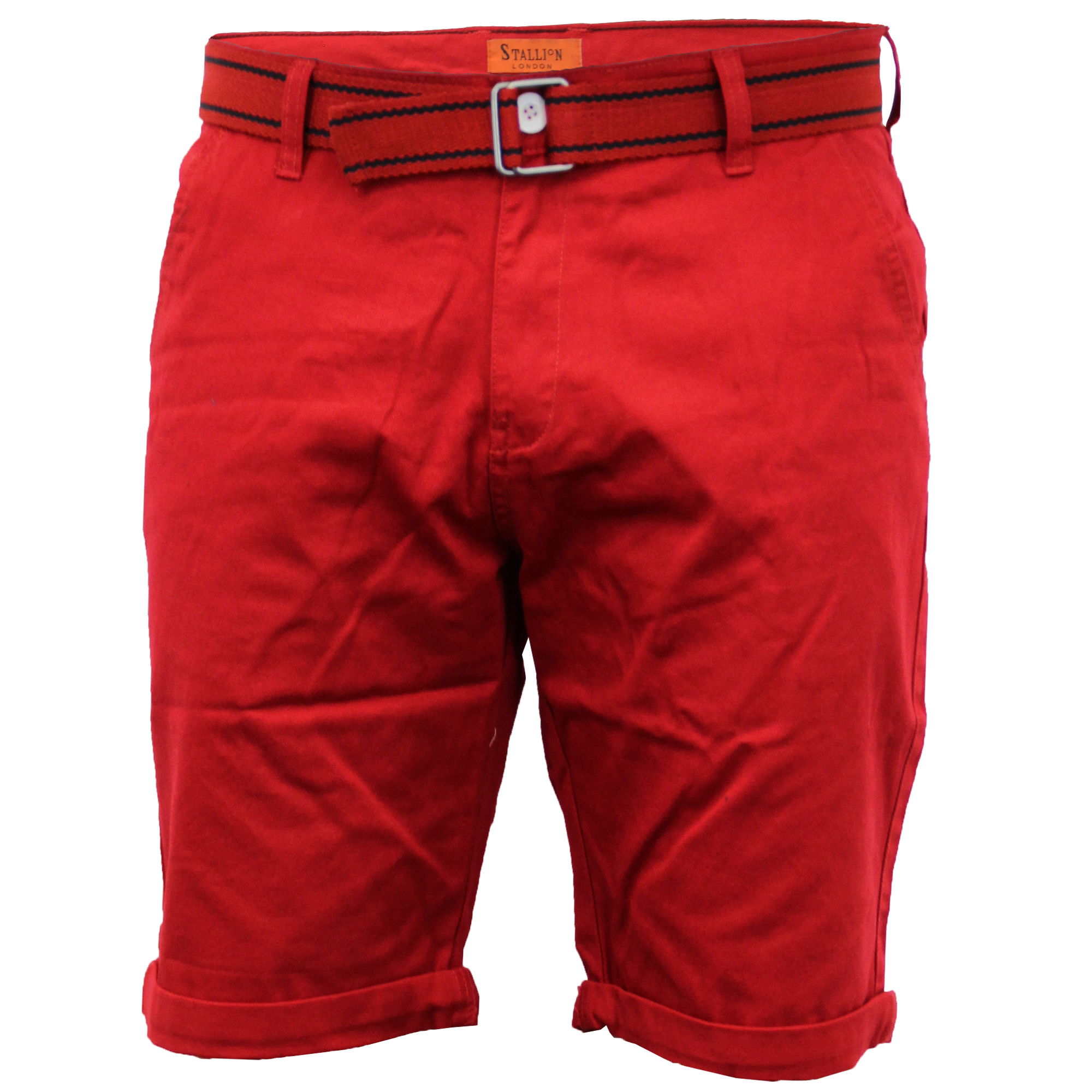 Mens-Chino-Shorts-Threadbare-Cotton-Oxford-Belted-Loyalty-amp-Faith-Seven-Series thumbnail 38