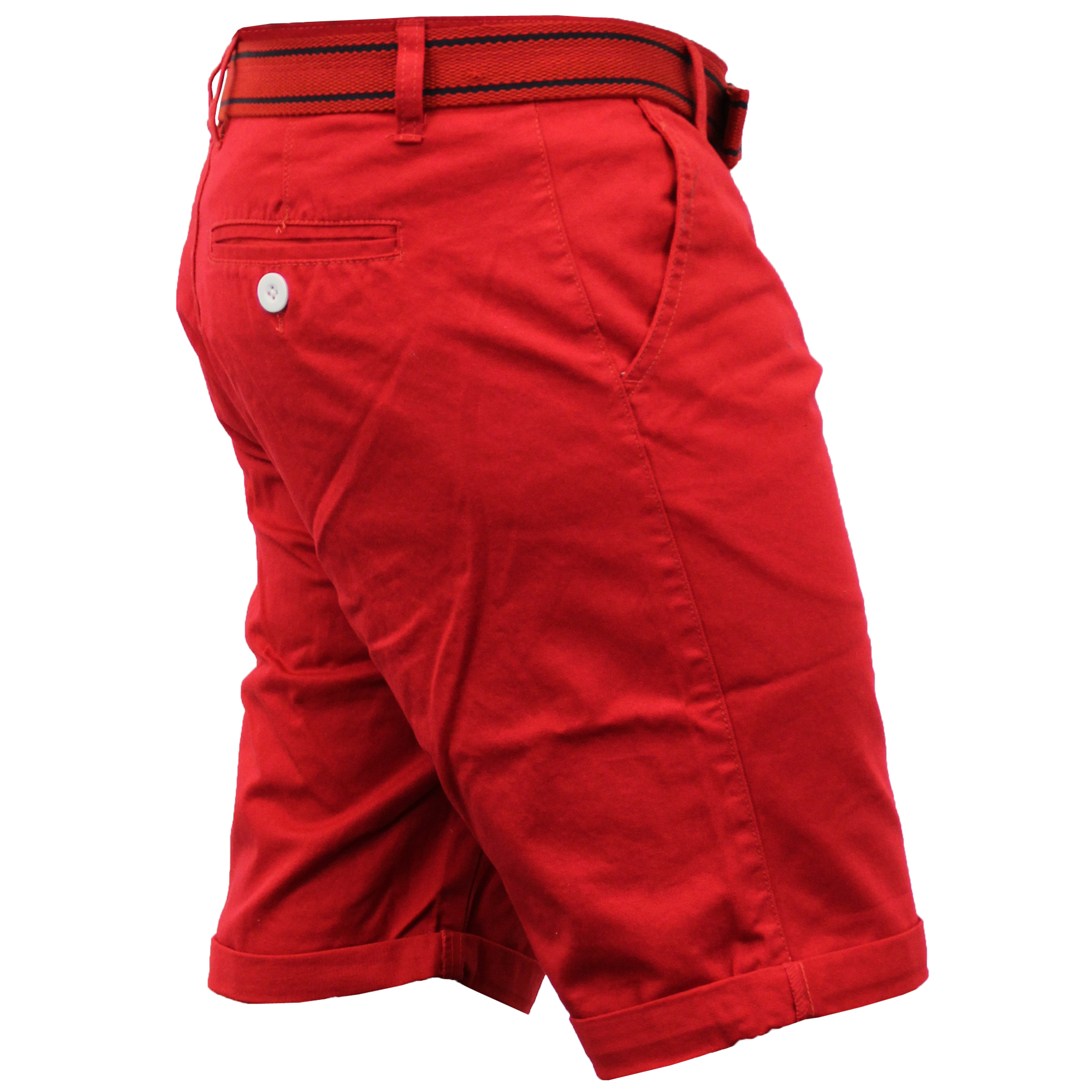 Mens-Chino-Shorts-Threadbare-Cotton-Oxford-Belted-Loyalty-amp-Faith-Seven-Series thumbnail 39