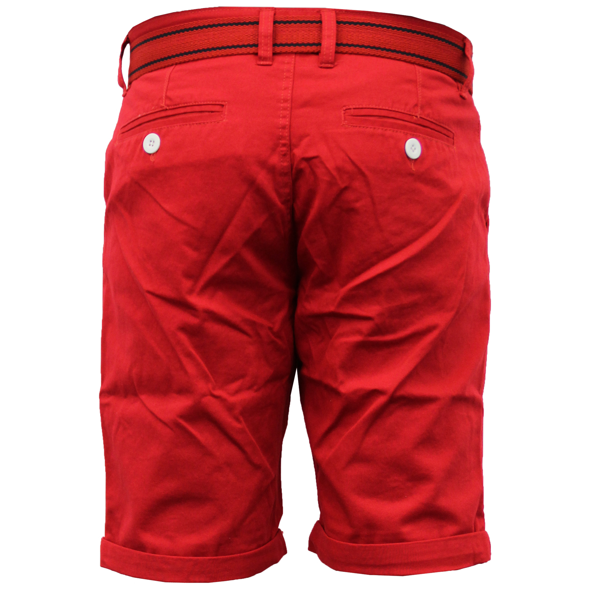 Mens-Chino-Shorts-Threadbare-Cotton-Oxford-Belted-Loyalty-amp-Faith-Seven-Series thumbnail 41