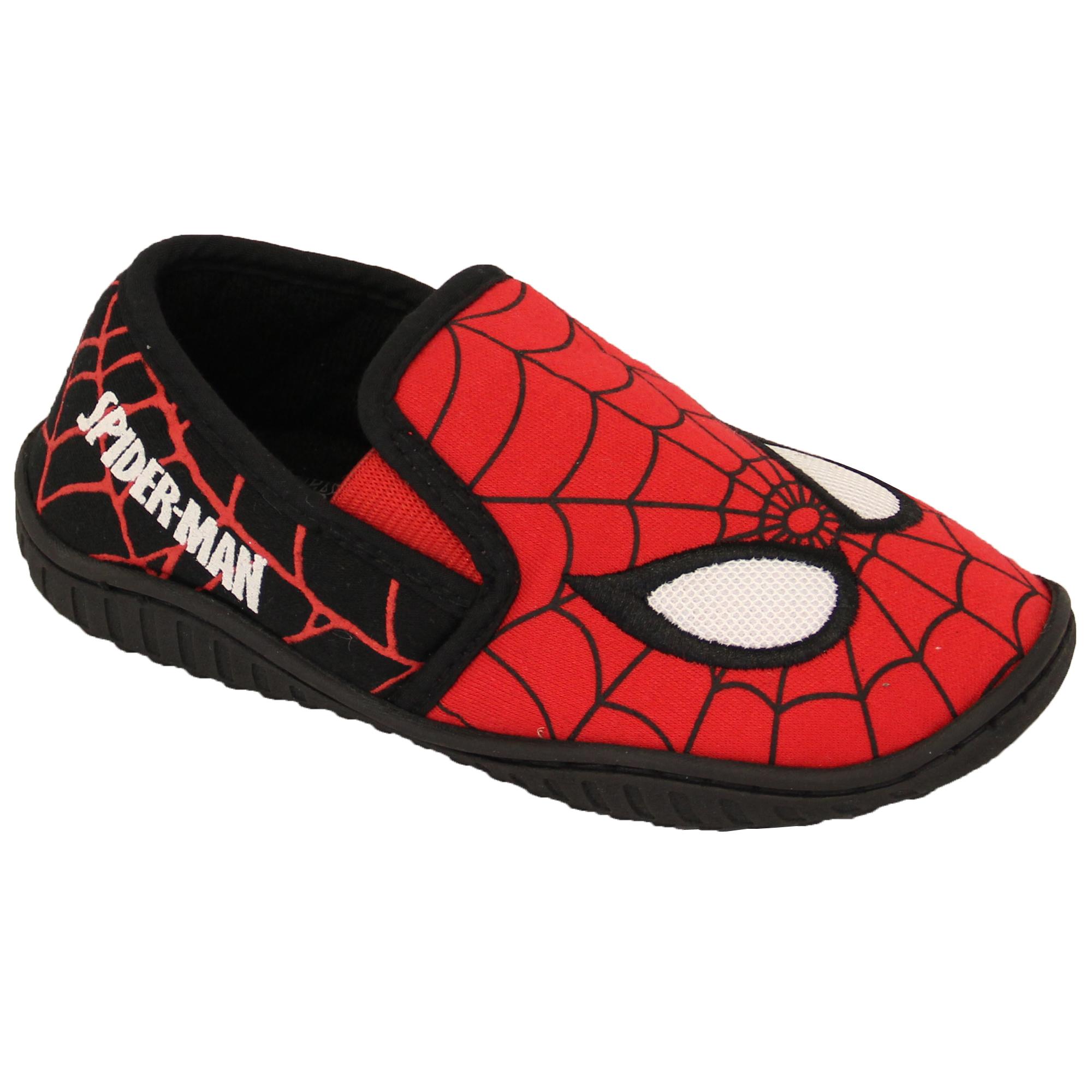 Boys-Girls-Shoes-Minion-Kids-Trainers-Star-Wars-Disney-Spiderman-Slipper thumbnail 32