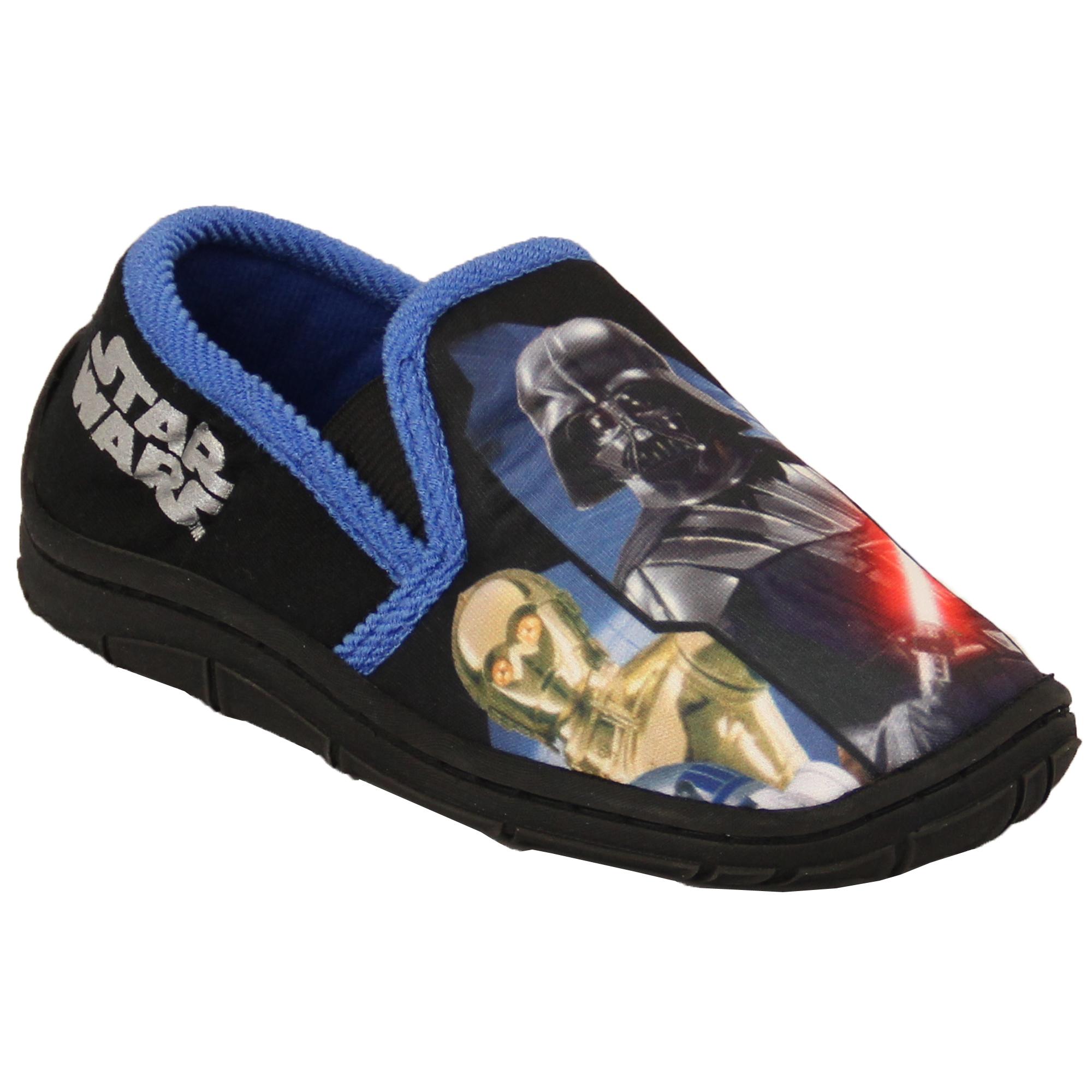 Boys-Girls-Shoes-Minion-Kids-Trainers-Star-Wars-Disney-Spiderman-Slipper thumbnail 10
