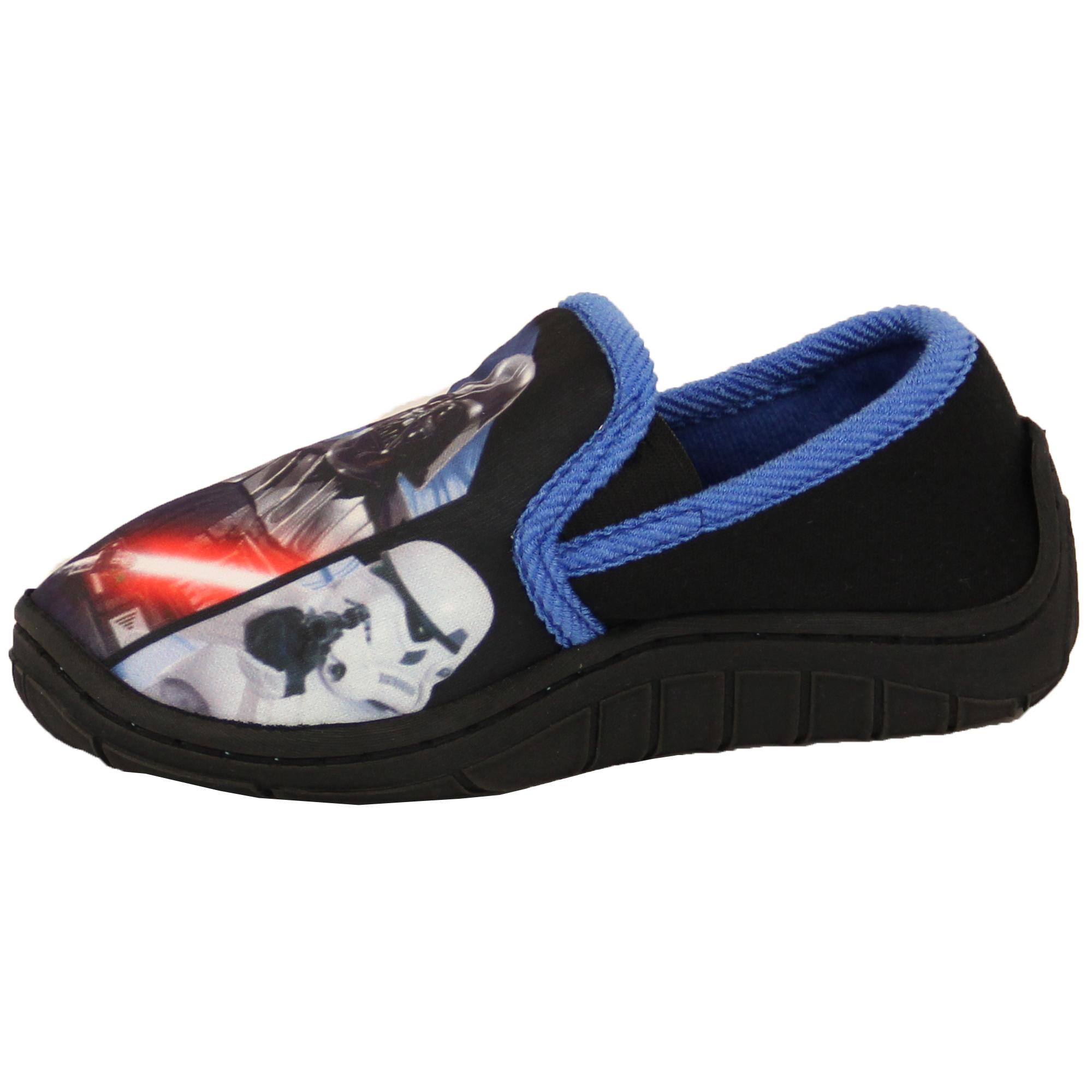 Boys-Girls-Shoes-Minion-Kids-Trainers-Star-Wars-Disney-Spiderman-Slipper thumbnail 11
