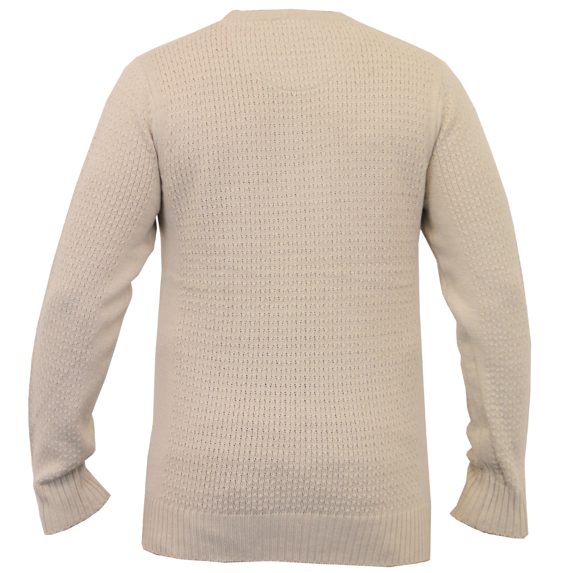 Mens-Knitted-Sweater-Pullover-Jumpers-By-Brave-Soul thumbnail 9