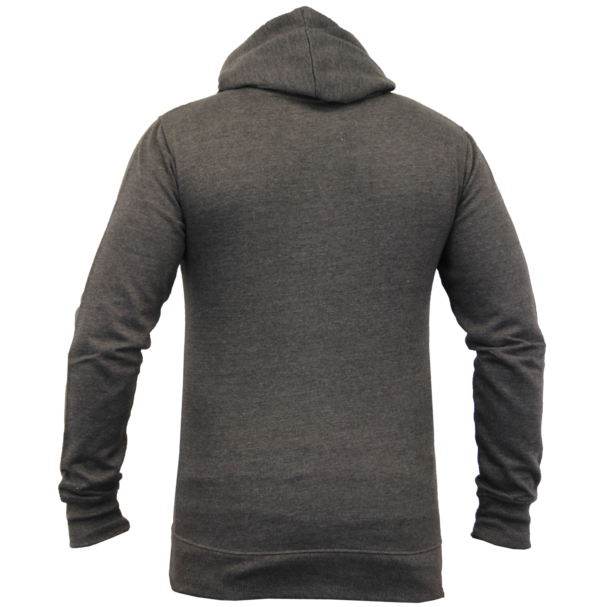Mens-Diamond-Quilted-Hooded-Top-Fleece-Lined-Sweatshirt-By-Galvanize thumbnail 12