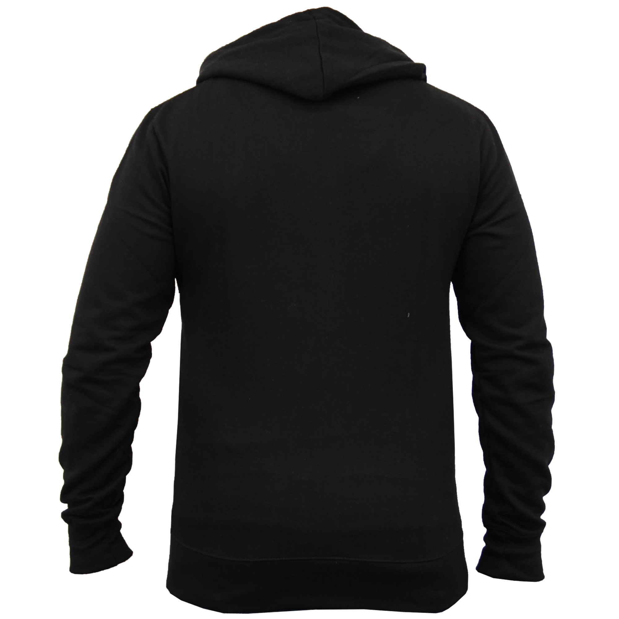 Mens-Diamond-Quilted-Hooded-Top-Fleece-Lined-Sweatshirt-By-Galvanize thumbnail 4