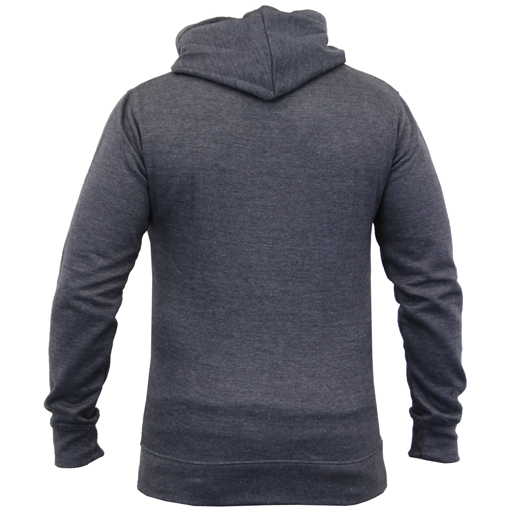Mens-Diamond-Quilted-Hooded-Top-Fleece-Lined-Sweatshirt-By-Galvanize thumbnail 15