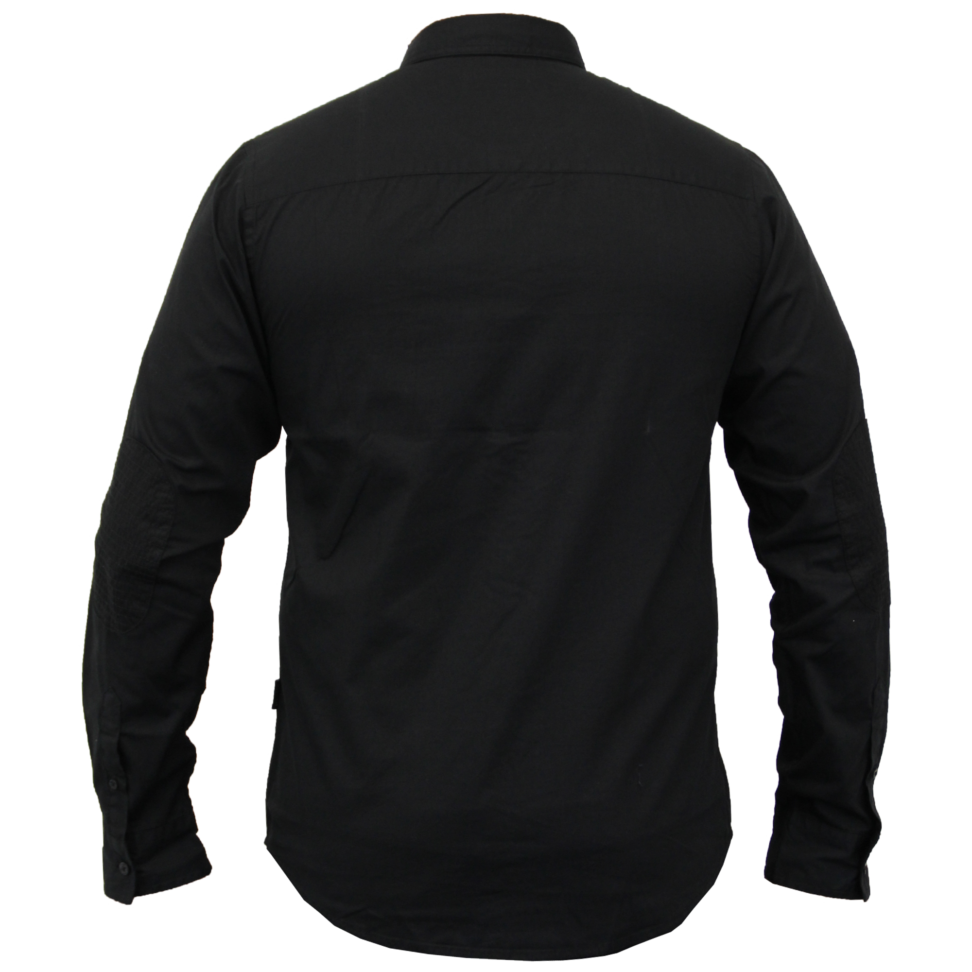 Camisas-de-vestir-para-hombre-de-alma-valiente-Smith-amp-Jones-Manga-Corta-Larga-De-Algodon-Con miniatura 3