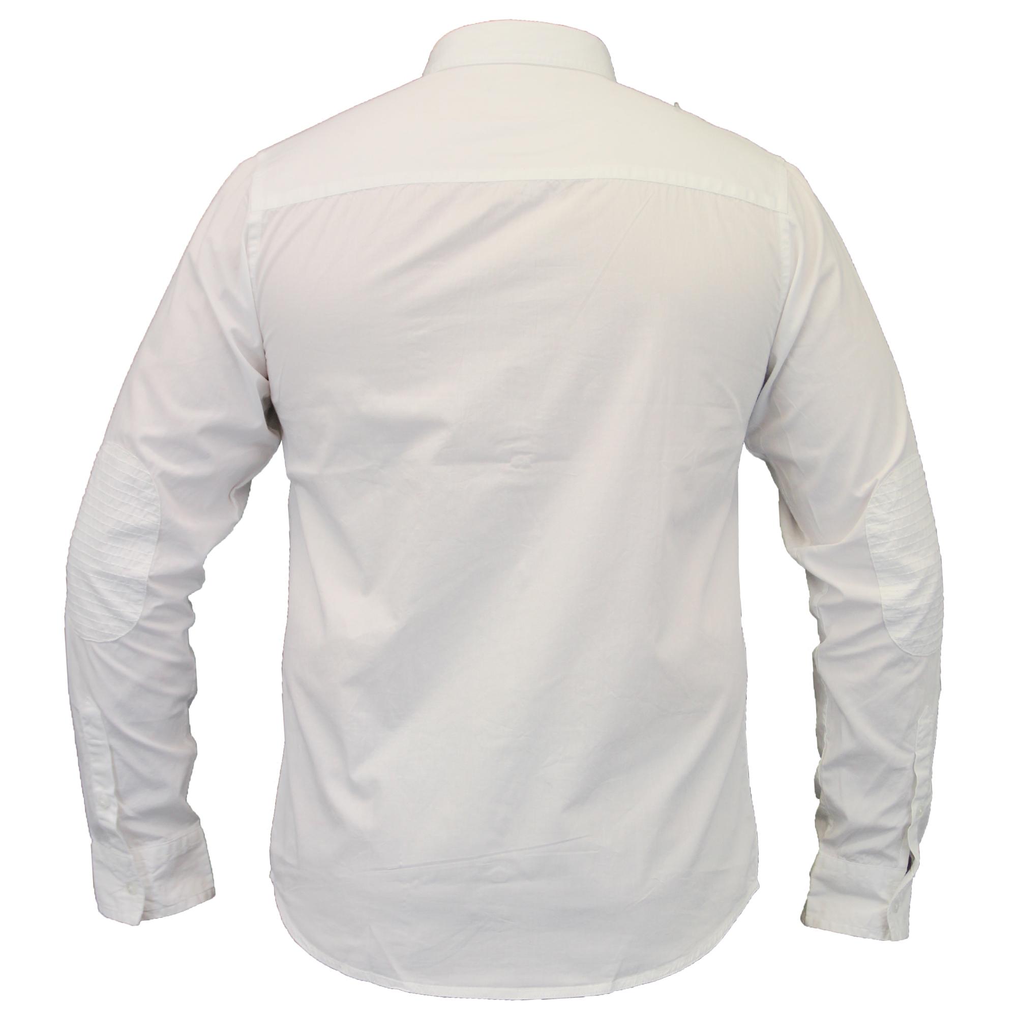Camisas-de-vestir-para-hombre-de-alma-valiente-Smith-amp-Jones-Manga-Corta-Larga-De-Algodon-Con miniatura 12