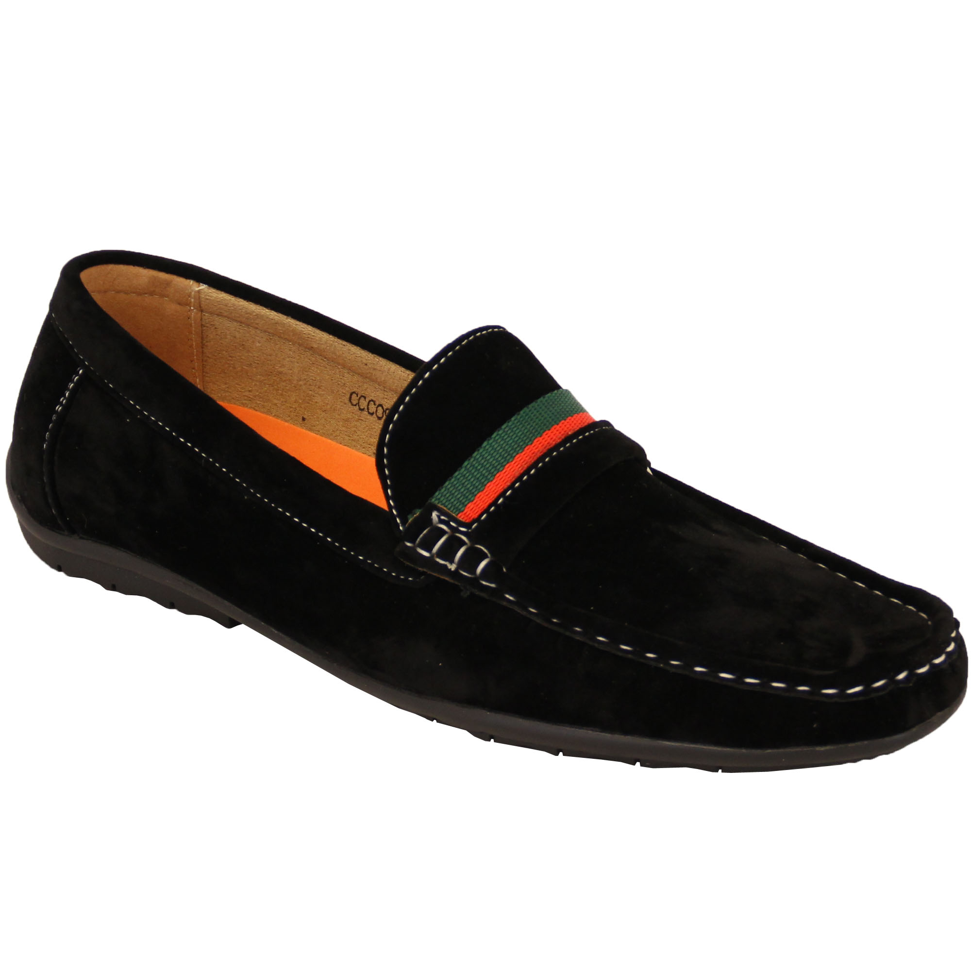 Mens-Moccasins-Suede-Look-Driving-Loafers-Slip-On-Boat-Shoes-Ribbon-Tassle-New thumbnail 2