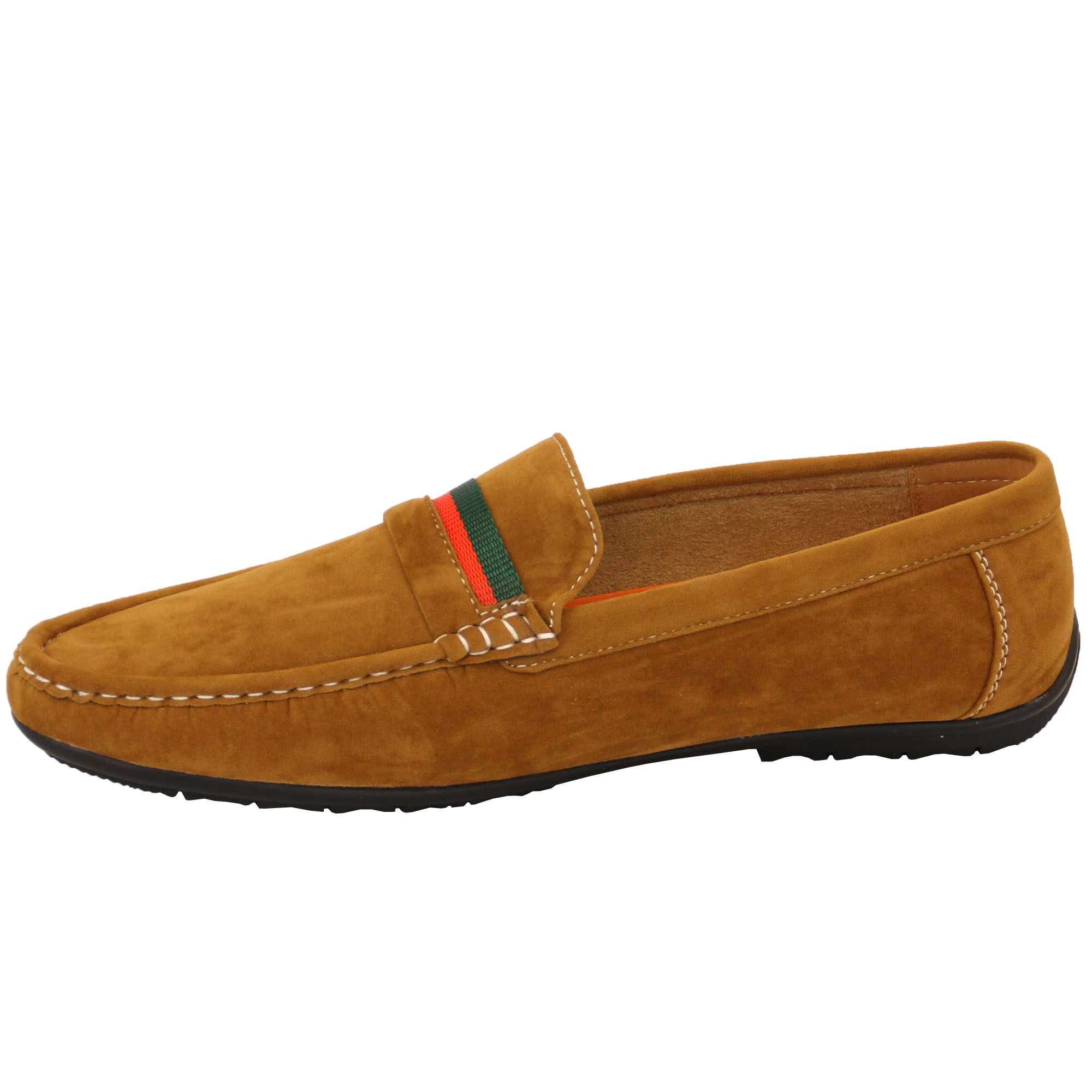 Mens-Moccasins-Suede-Look-Driving-Loafers-Slip-On-Boat-Shoes-Ribbon-Tassle-New thumbnail 8