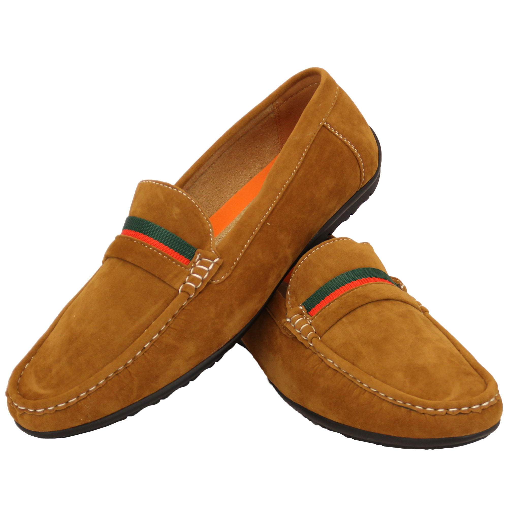Mens-Moccasins-Suede-Look-Driving-Loafers-Slip-On-Boat-Shoes-Ribbon-Tassle-New thumbnail 10