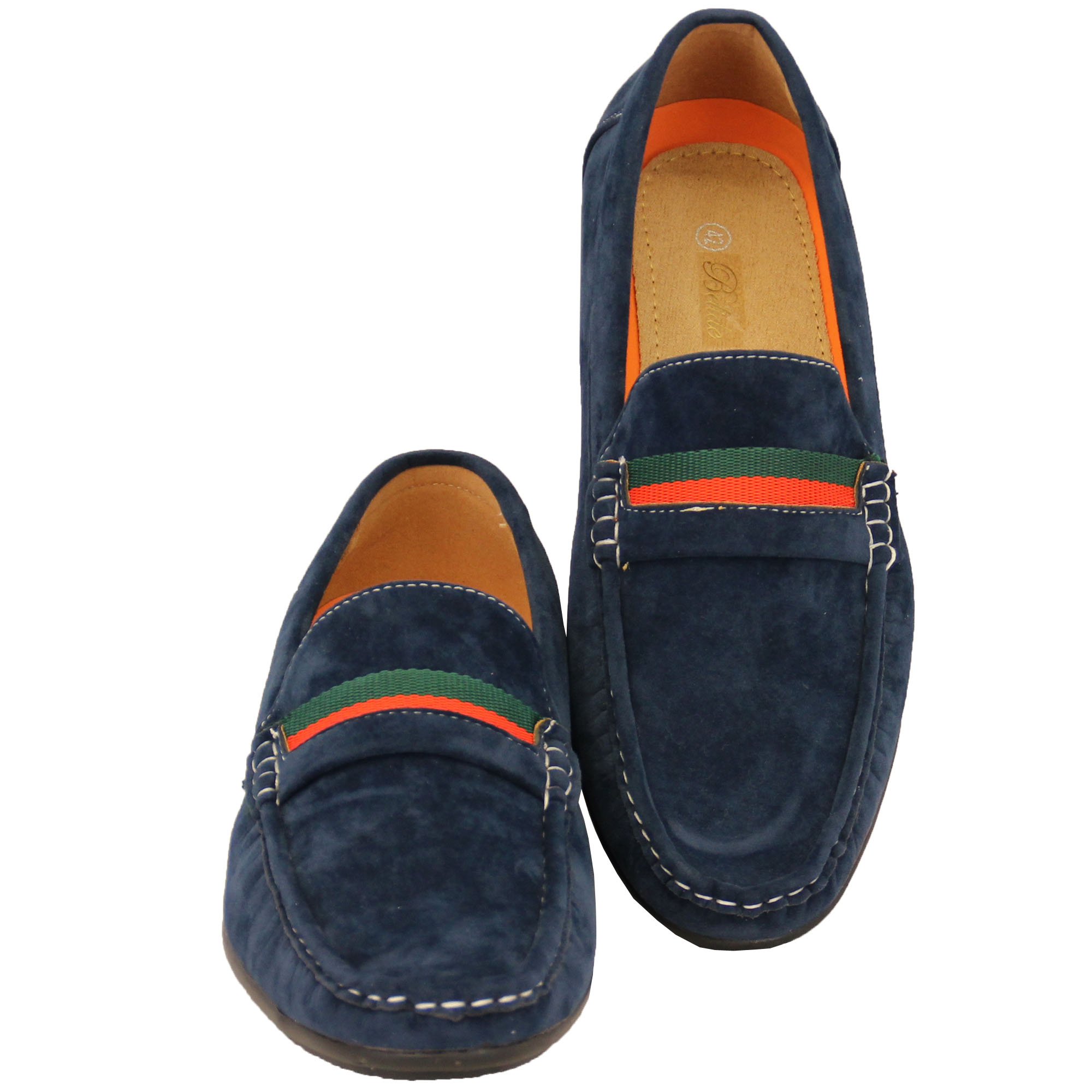 Mens-Moccasins-Suede-Look-Driving-Loafers-Slip-On-Boat-Shoes-Ribbon-Tassle-New thumbnail 15