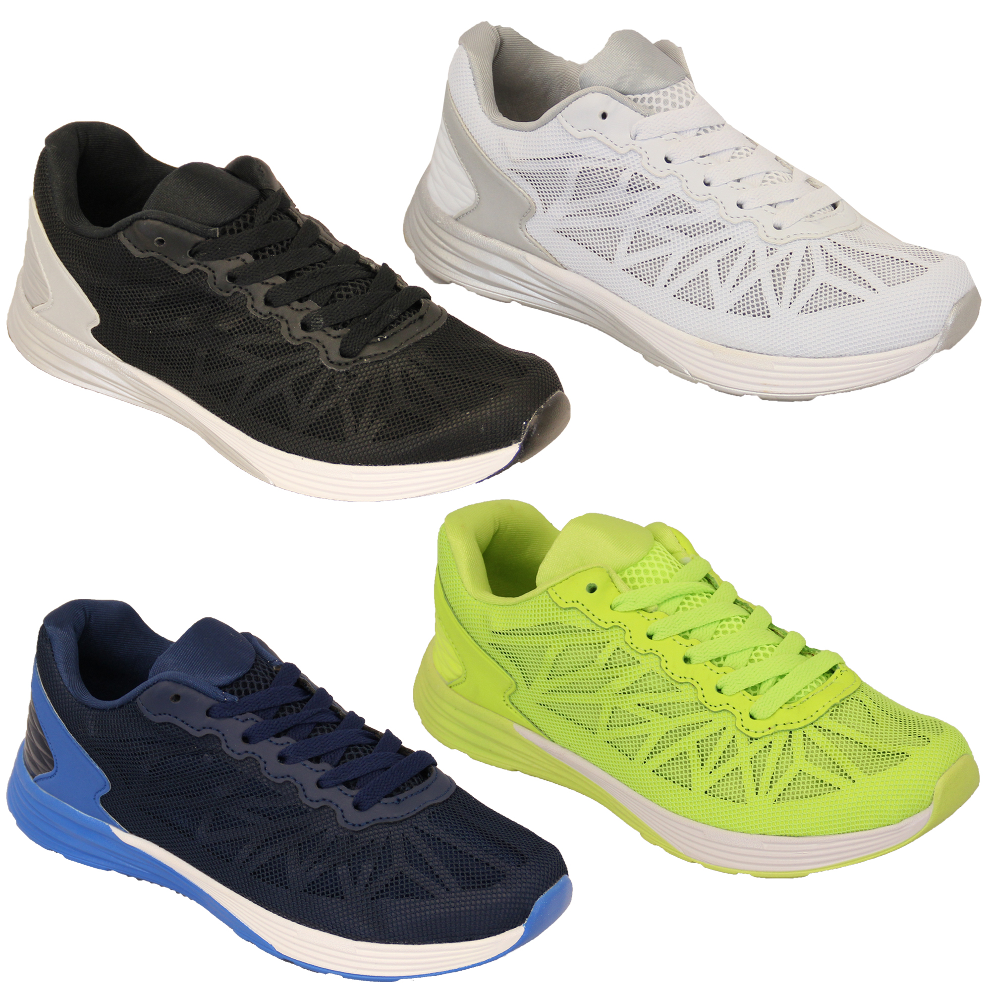 Mens-Trainers-Running-Shoes-Lace-Up-Jogging-Gym-