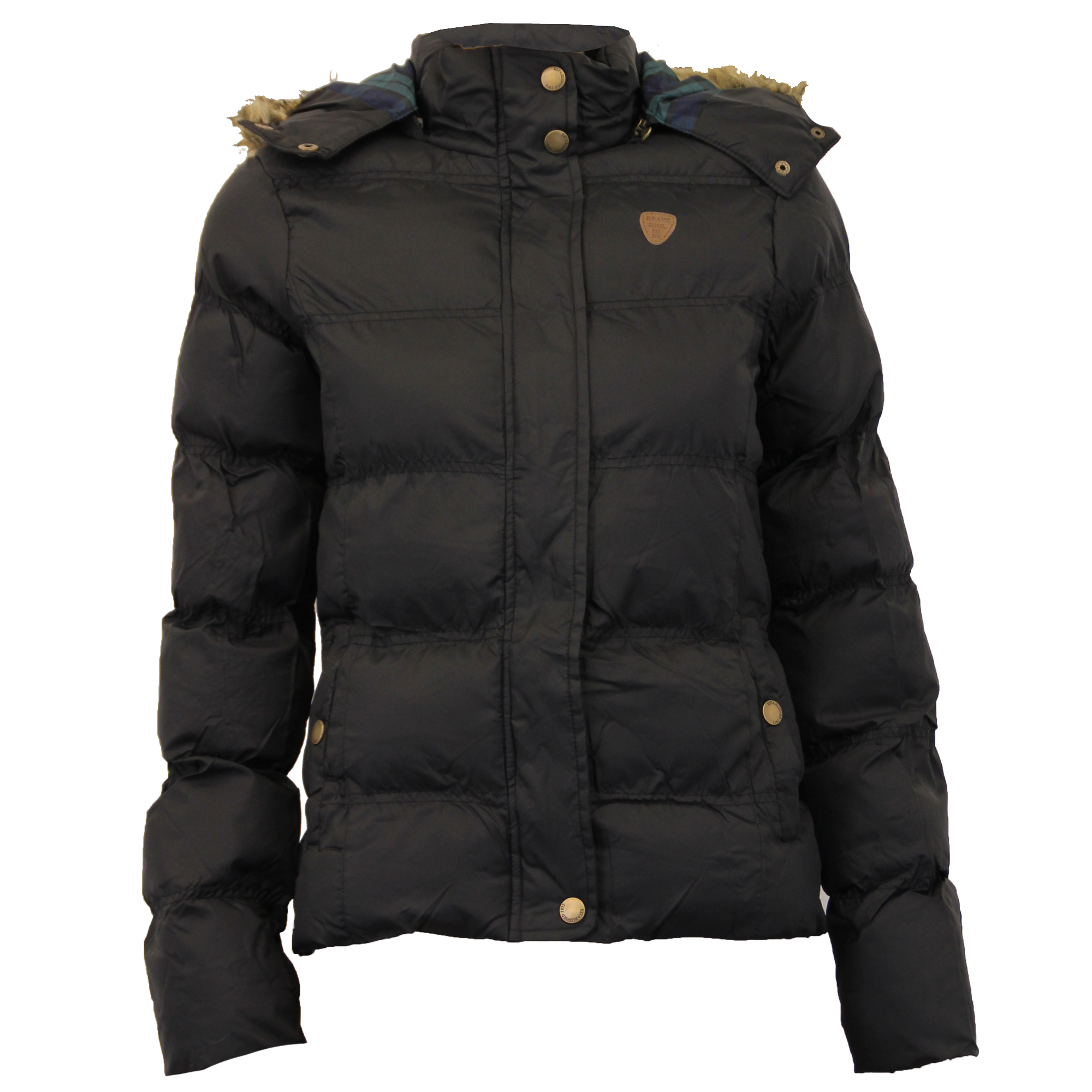 Ladies Jacket Brave Soul Womens Coat BIG Sizes Hooded ...