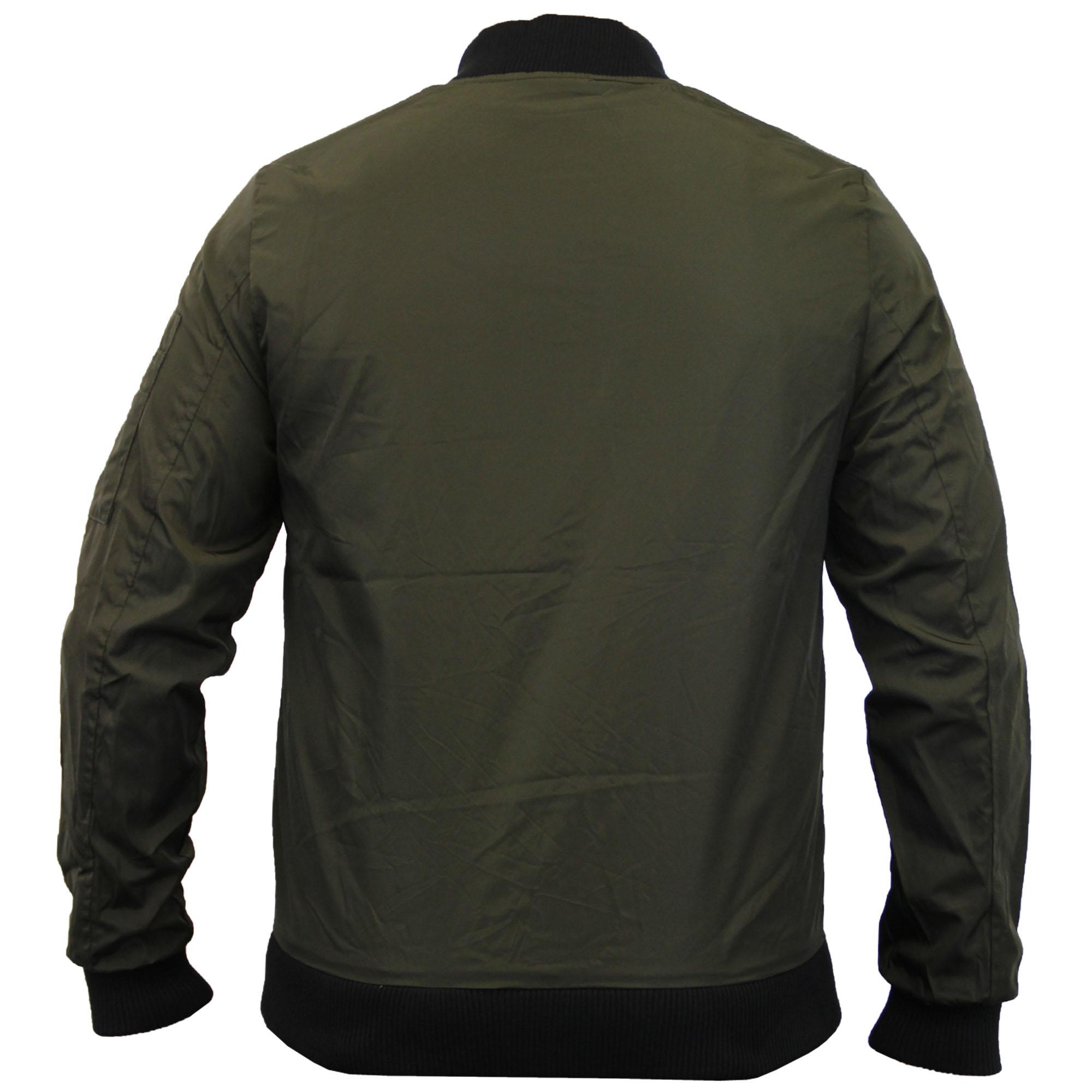 Veste homme soul star MA1 harrington manteau baseball bomber badge décontracté hiver