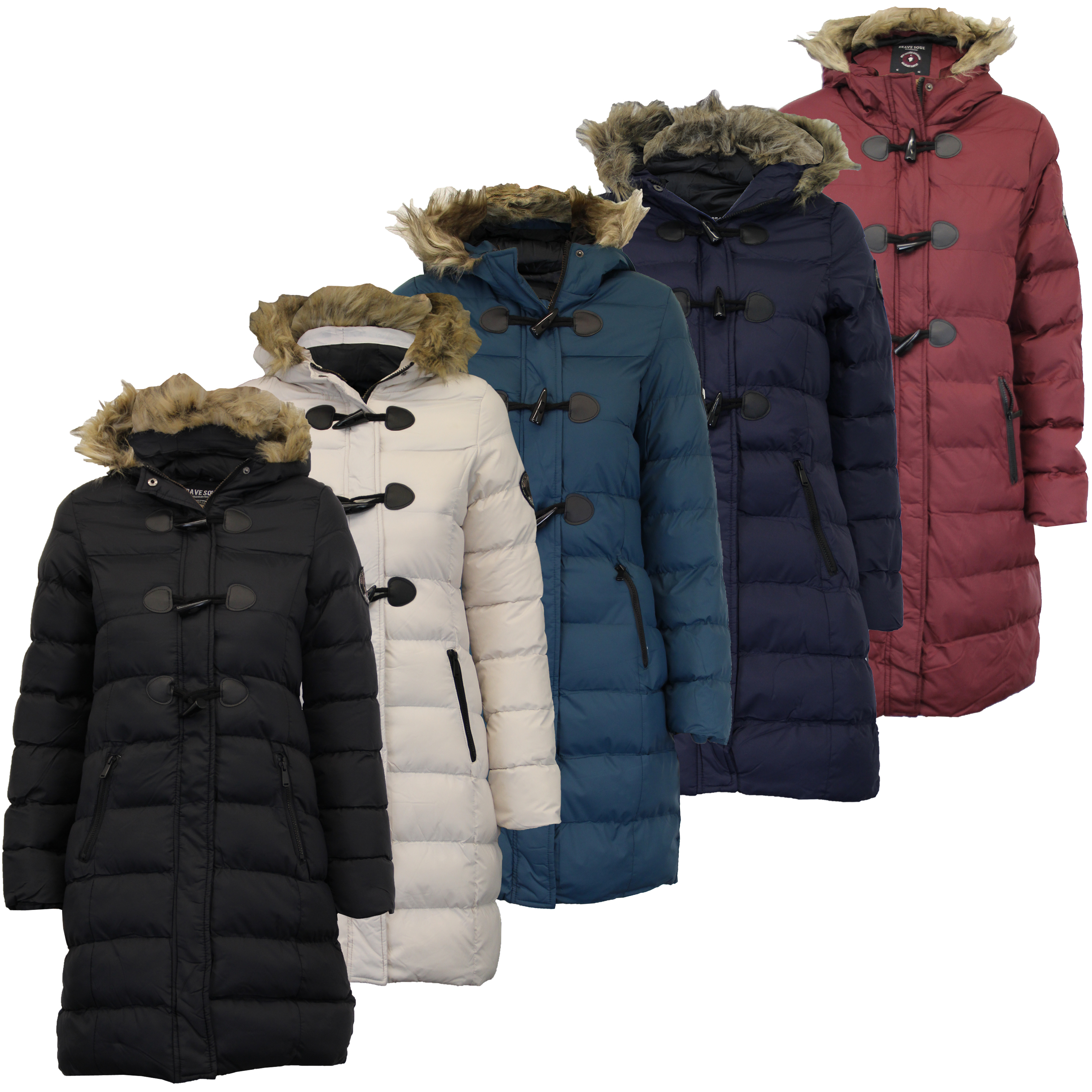 Brave Soul Women Padded Quilted Jacket