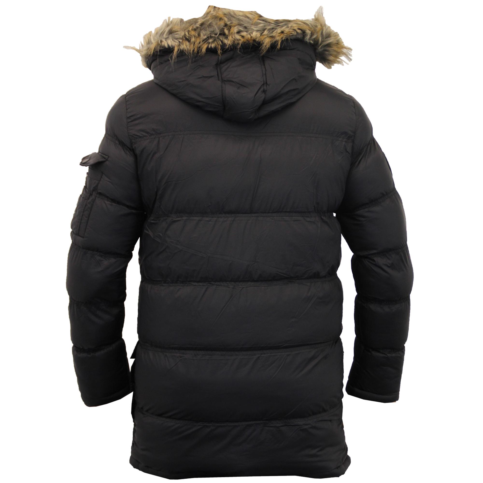 Mens Bubble Parka Jacket Brave Soul Coat Camo Military ...