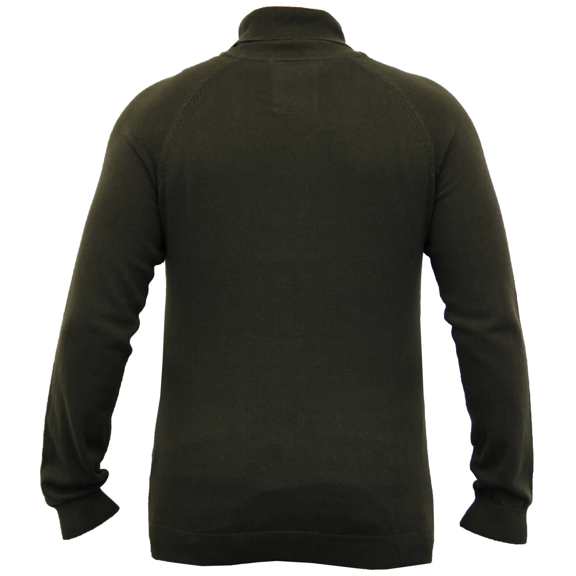 Mens-Jumper-Threadbare-Knitted-Sweater-Turtle-Polo-Neck-Pullover-Top-Winter-New thumbnail 3