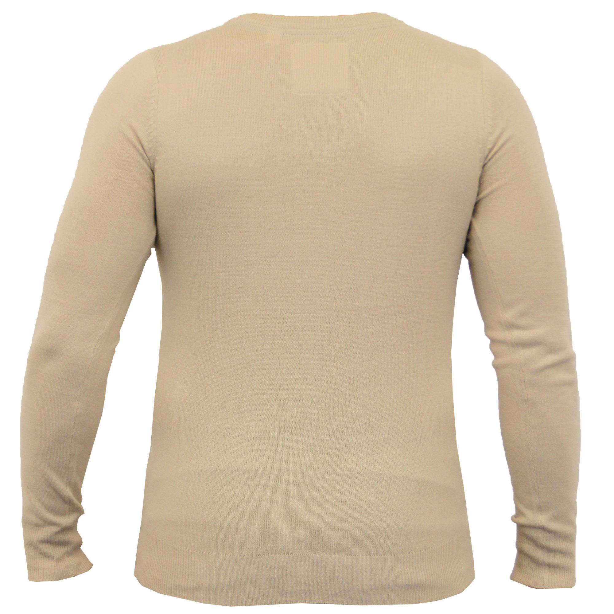 Mens-Jumper-Soul-Star-Knitted-Sweater-Pullover-Crew-V-Neck-Lightweight-Winter thumbnail 12