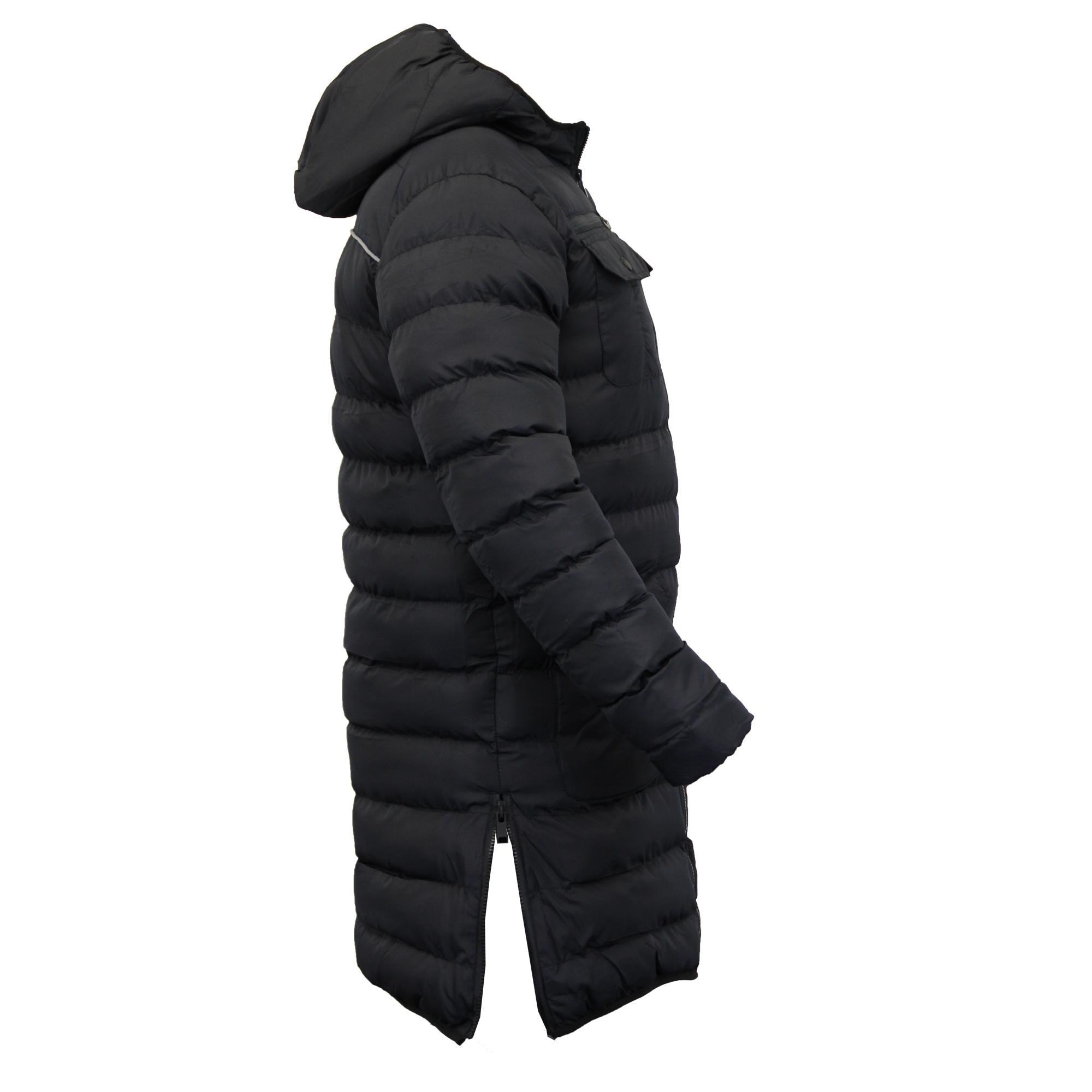 Mens Camo Jacket Brave Soul Harrington Long MA1 Mac Trench Coat ... : mens long quilted jacket - Adamdwight.com