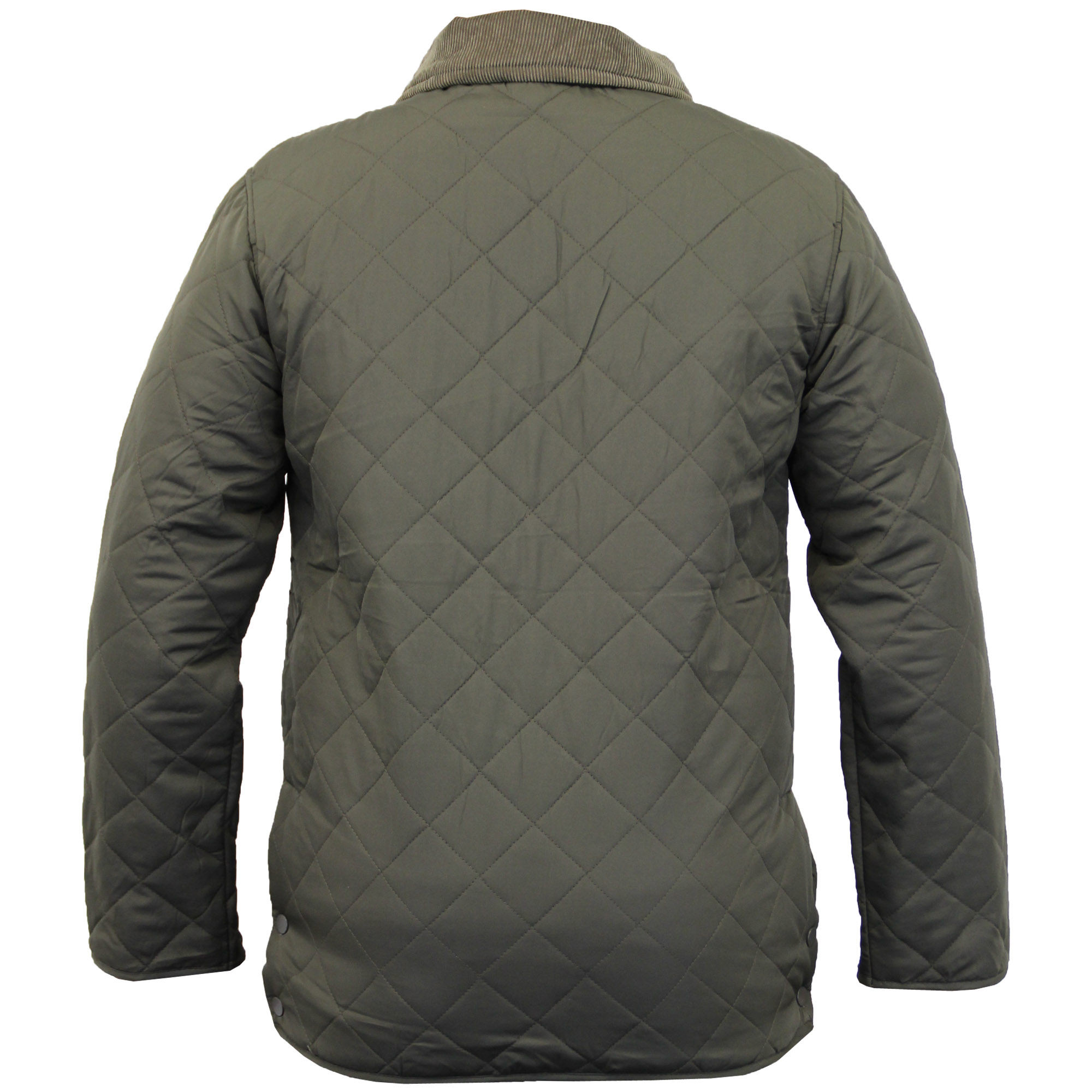 Mens MARENO Jacket Soul Star Coat Padded Quilted Corduroy ...