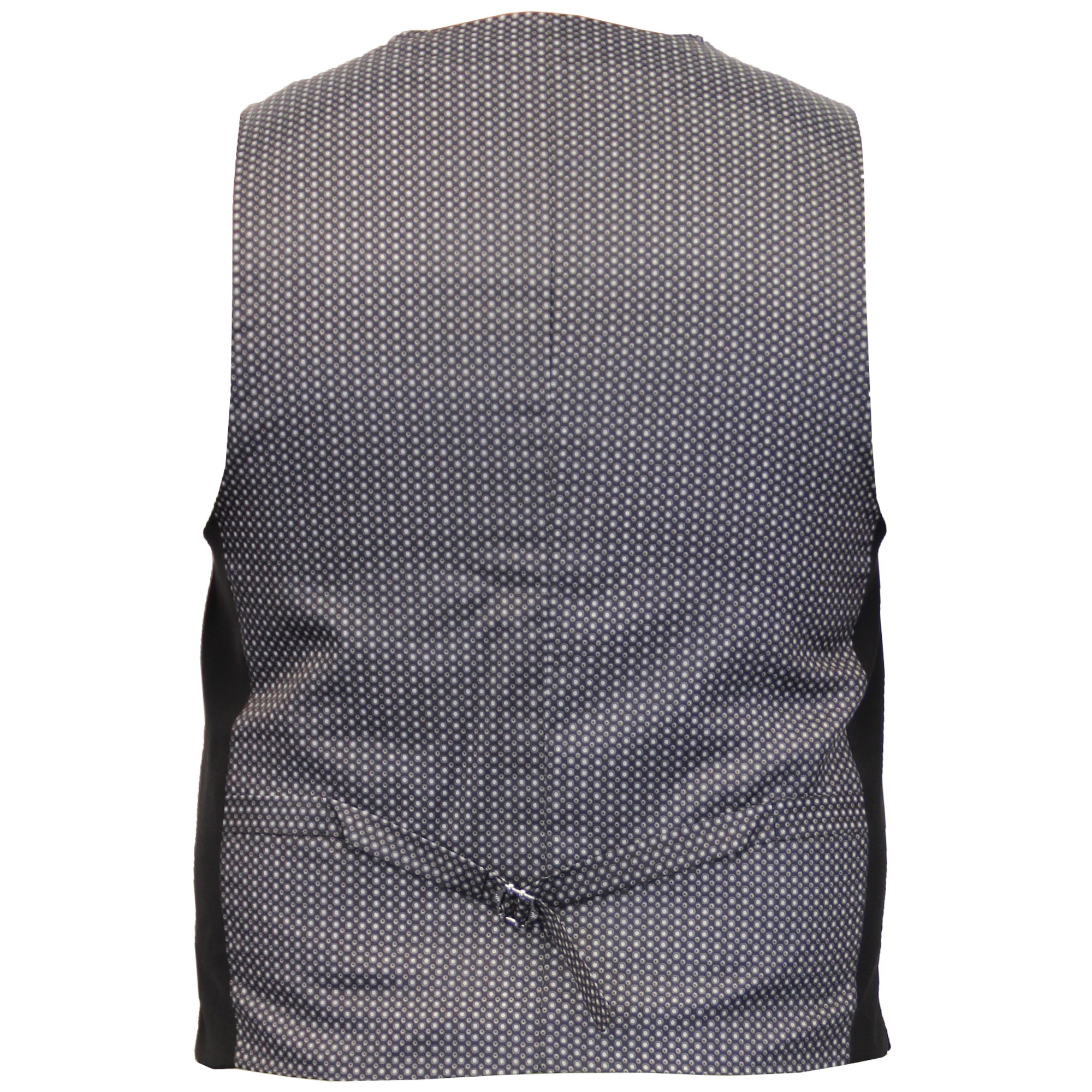 Mens-Wool-Mix-Herringbone-Tweed-Formal-Vest-Check-Waistcoat-By-Cavani-Crespo thumbnail 3