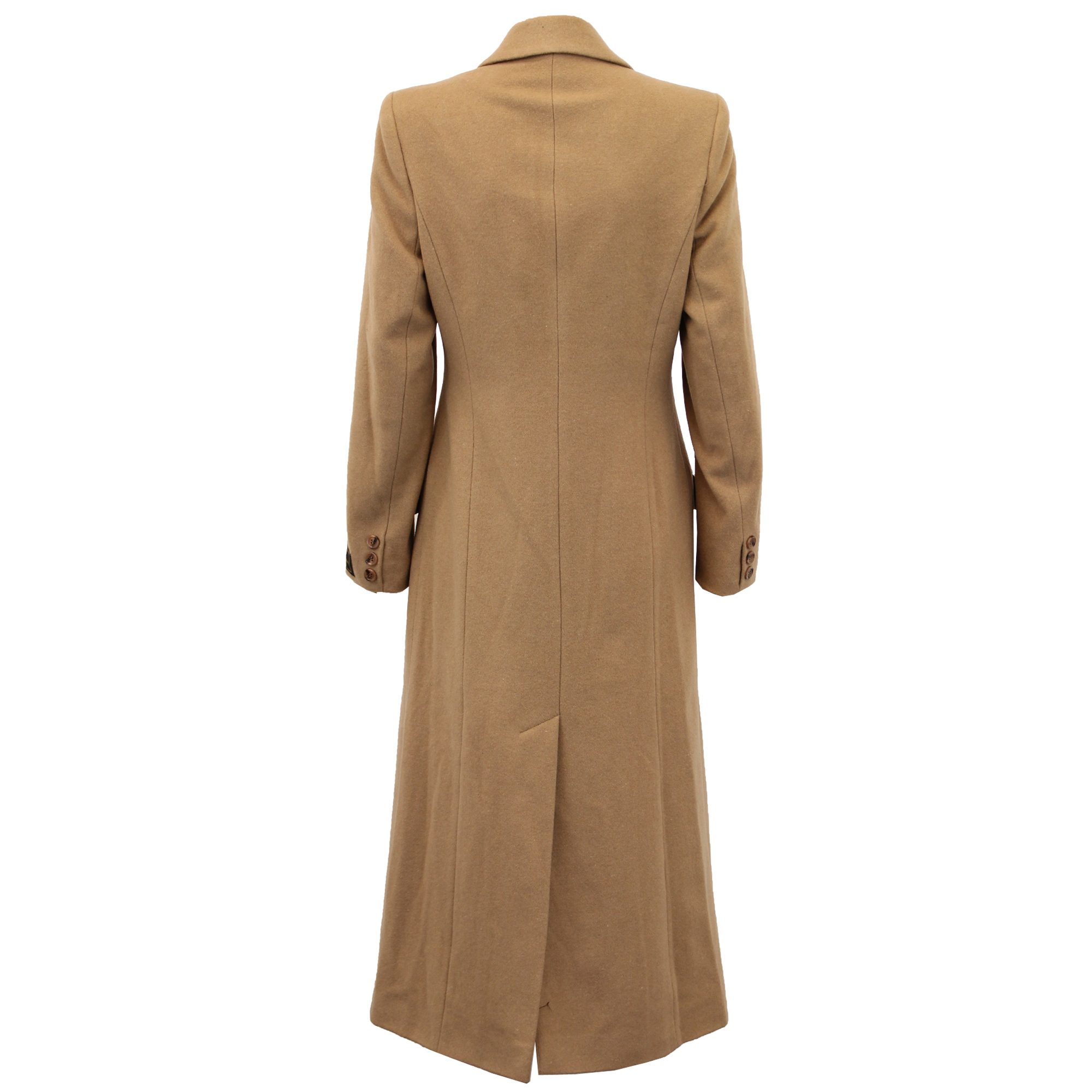 Ladies-Wool-Cashmere-Coat-Women-Jacket-Outerwear-Trench-Overcoat-Winter-Lined thumbnail 28