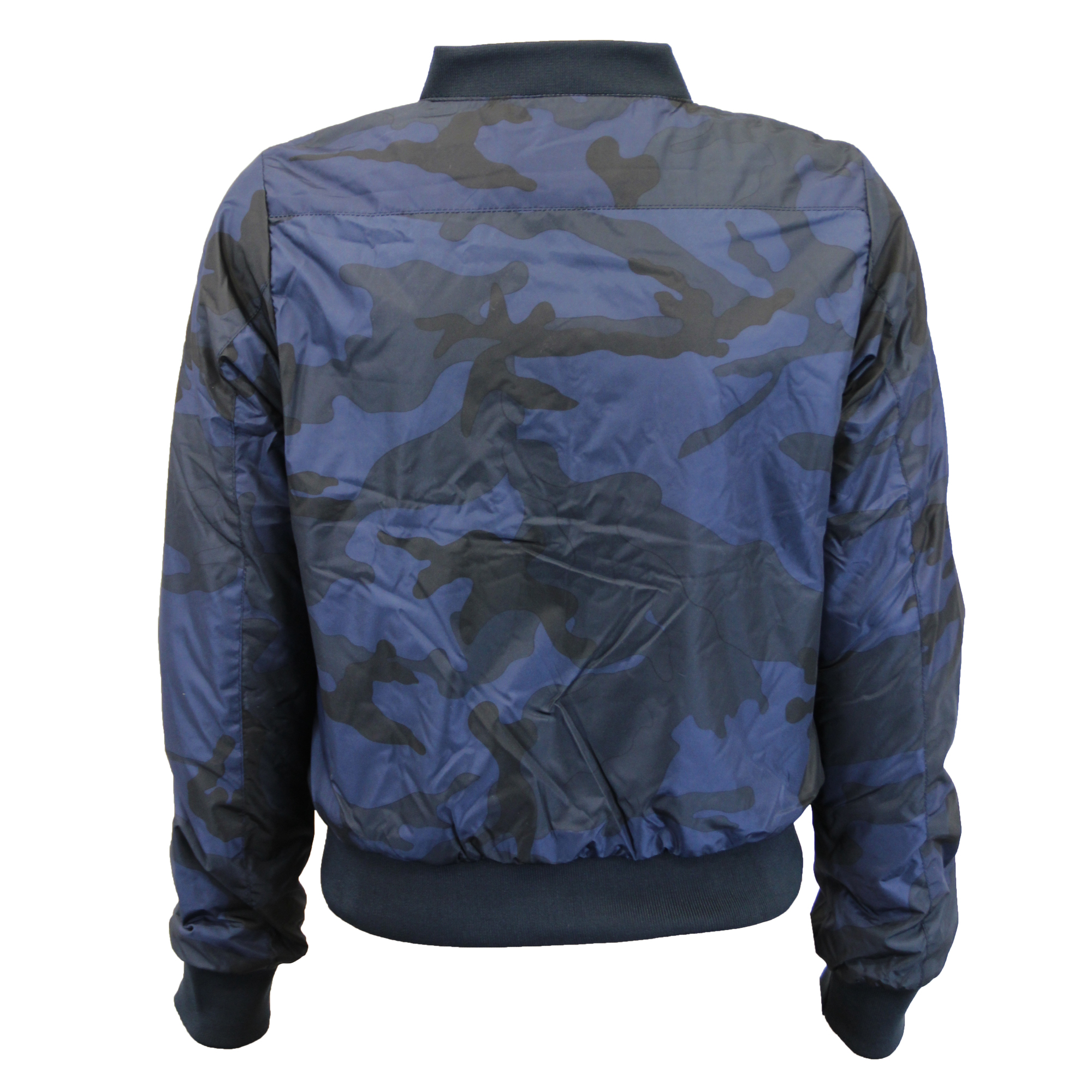 6a97cd013f163 Mujer Camuflaje Chaqueta Brave Soul Abrigo para Mujer Militar MA1 ...