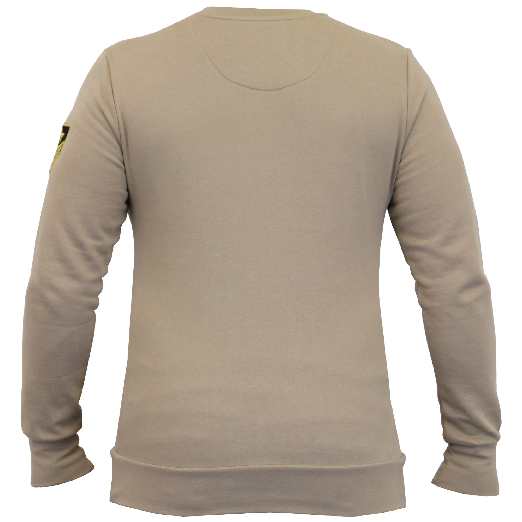 Mens-Sweatshirt-Brave-Soul-Military-Badge-Pullover-Top-Fleece-Lined-Winter-New thumbnail 4