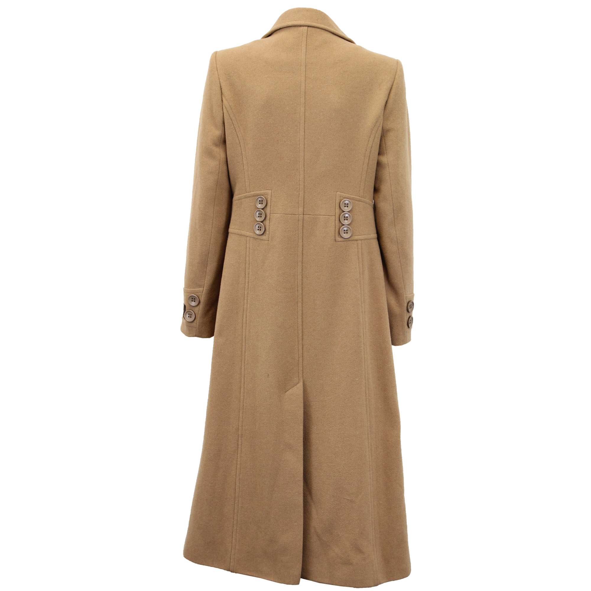 Ladies-Wool-Cashmere-Coat-Women-Jacket-Outerwear-Trench-Overcoat-Winter-Lined thumbnail 26
