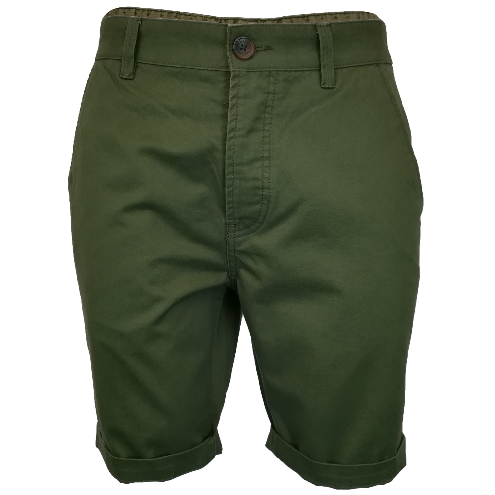 Mens-Chino-Shorts-Threadbare-Pants-Westace-Stallion-Knee-Length-Roll-Up-Summer thumbnail 20