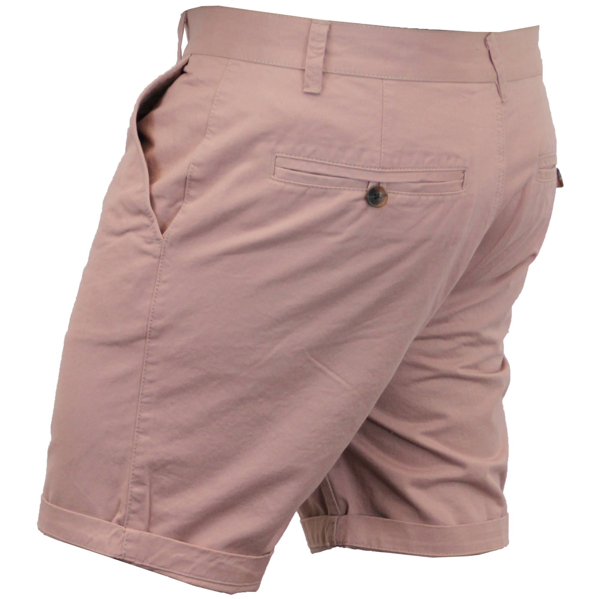 Mens-Chino-Shorts-Threadbare-Pants-Westace-Stallion-Knee-Length-Roll-Up-Summer thumbnail 34