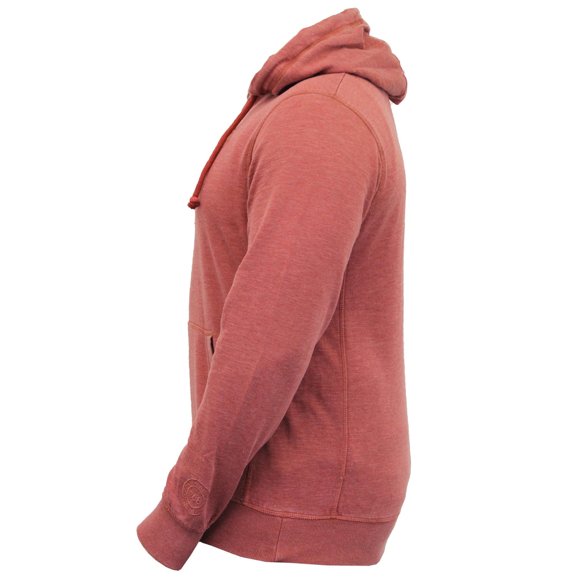 Mens-Sweatshirt-Tokyo-Laundry-Hooded-Top-Sweat-Applique-Zip-Gym-Fleece-Lined-New thumbnail 22
