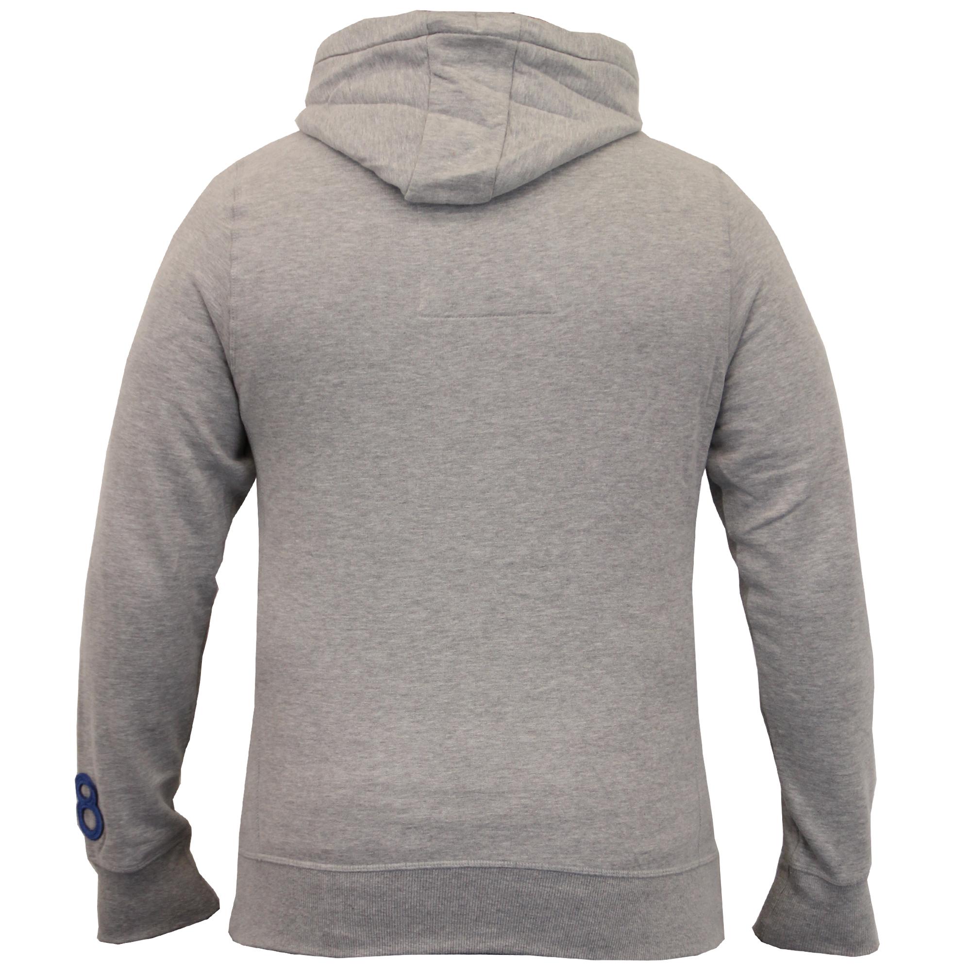 Mens-Sweatshirt-Tokyo-Laundry-Hooded-Top-Sweat-Applique-Zip-Gym-Fleece-Lined-New thumbnail 18